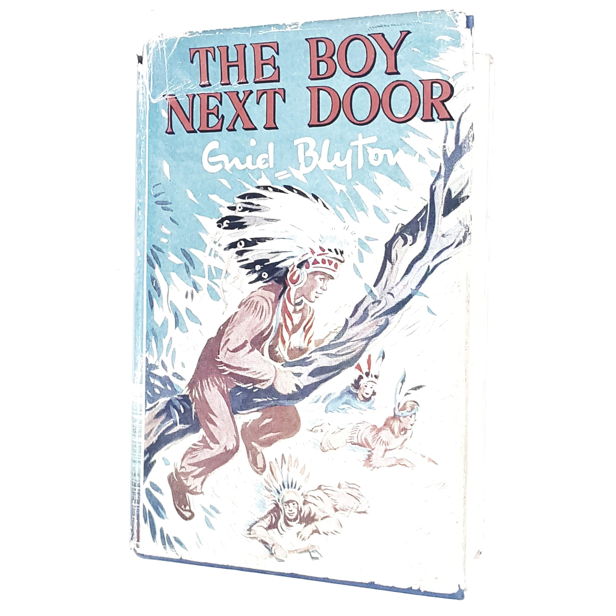 boy-next-door-enid-blyton-kids-illustrated-vintage-book-country-library-book