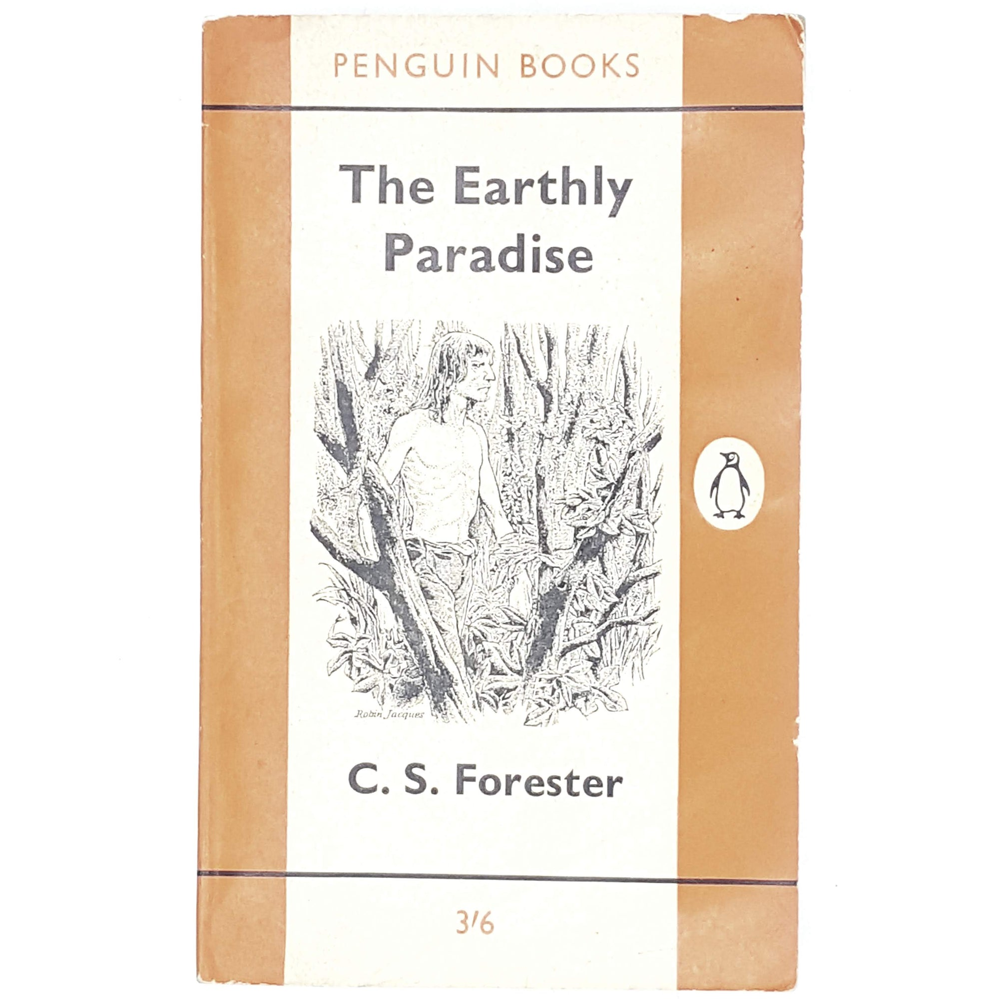 First Edition C. S. Forester's The Earthly Paradise 1962