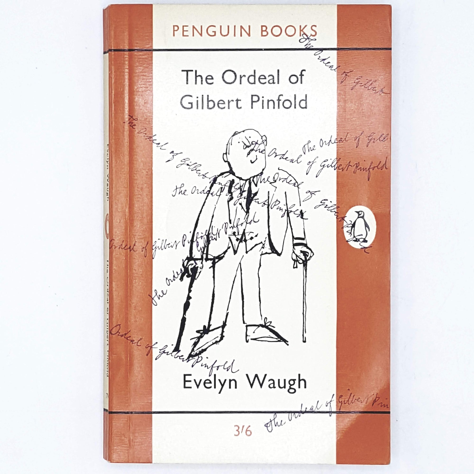 First Edition Evelyn Waugh's The Ordeal of Gilbert Pinfold 1962