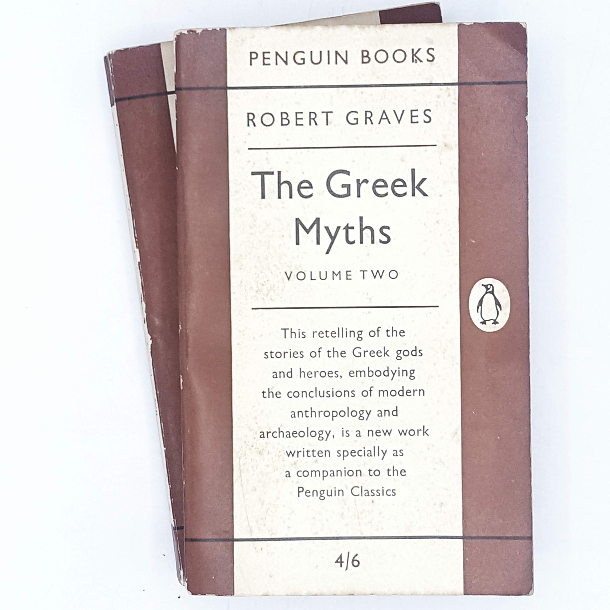 brown-collection-history-vintage-penguin-country-library-book