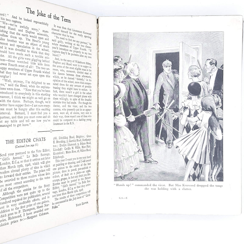 Illustrated The British Girl's Annual Cassel & Co. ltd