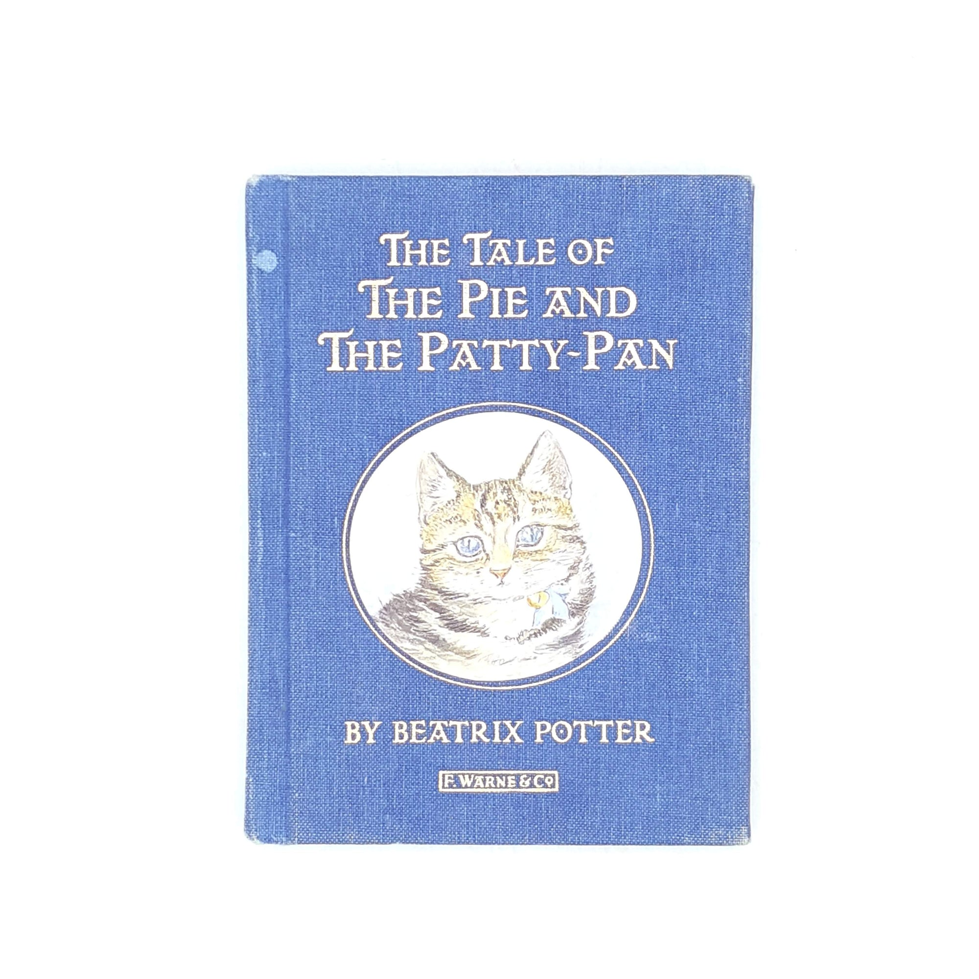 Beatrix Potter's The Tale of the Pie and the Patty-Pan Cloth Cover Edition