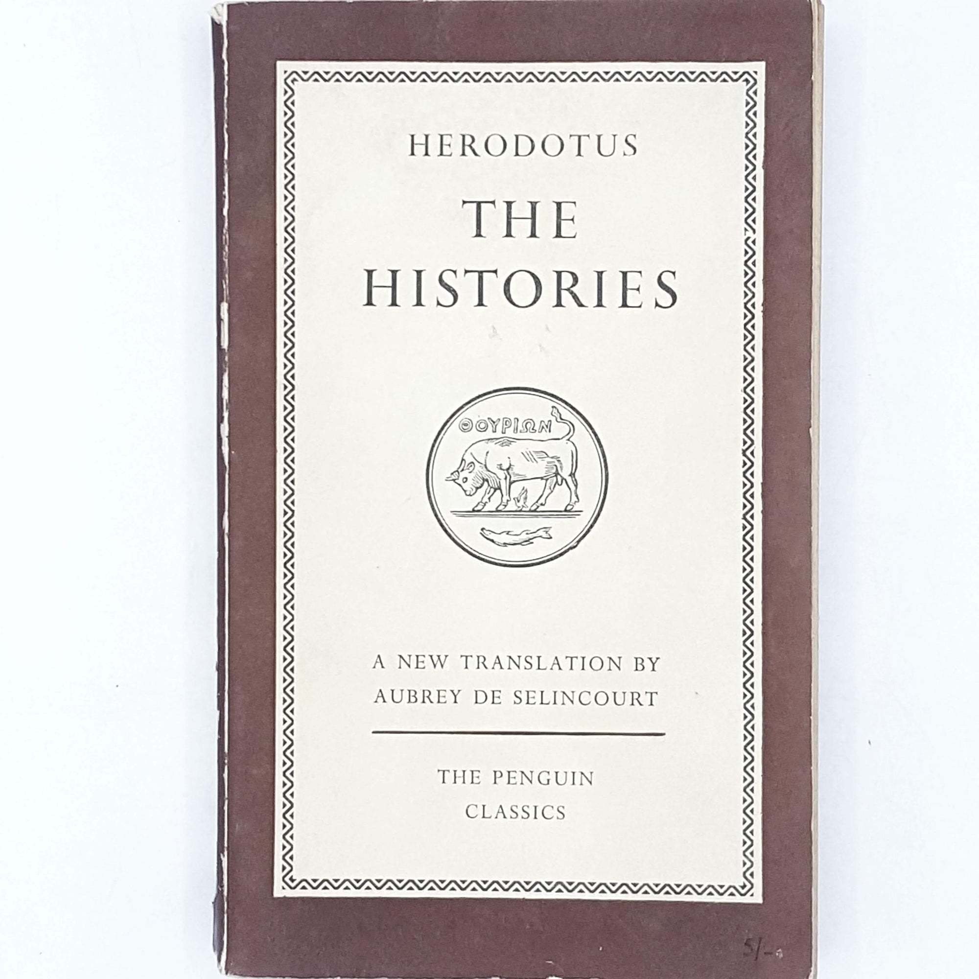Herodotus's The Histories 1954 - 1959