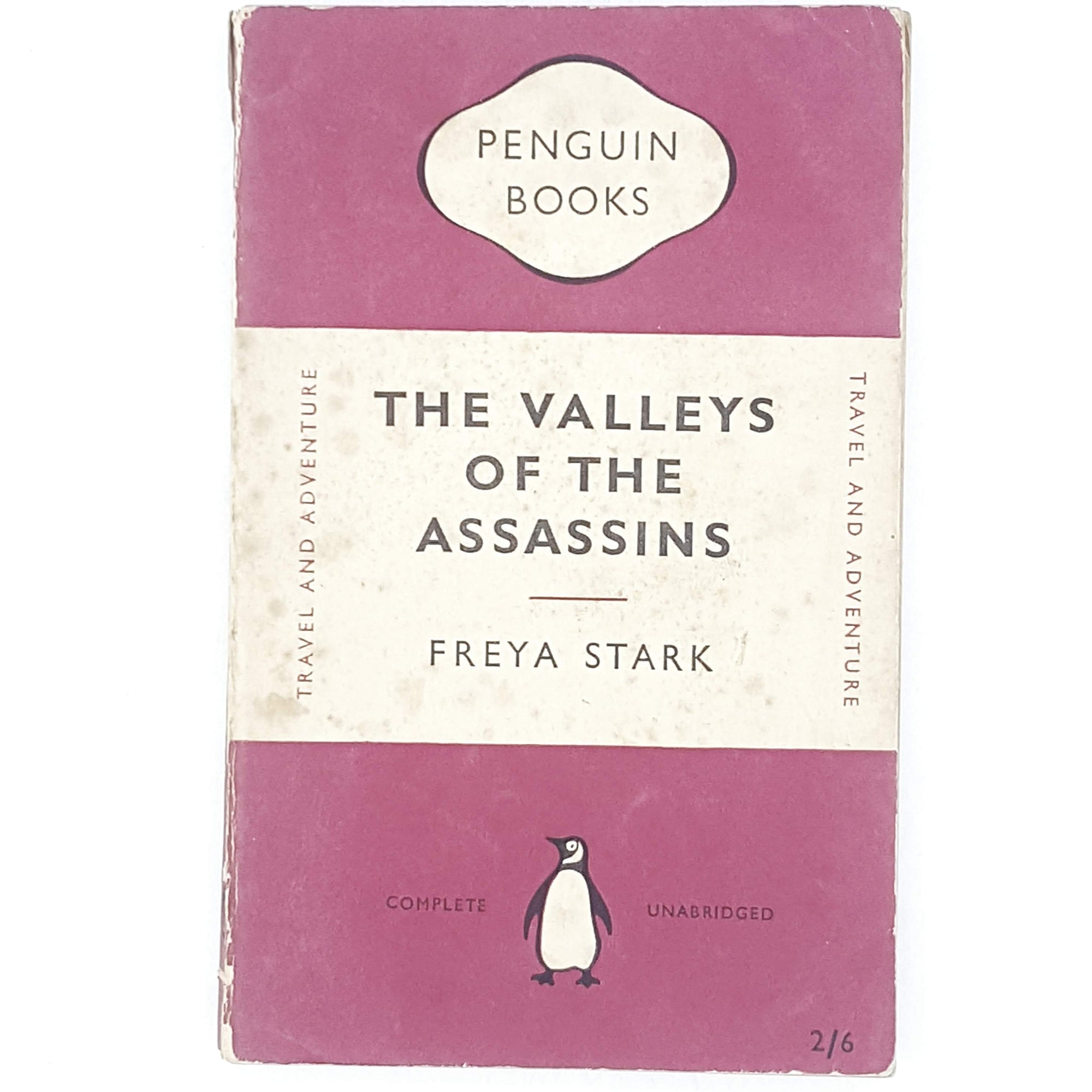 First Edition Valley of the Assassins by Freya Stark 1952