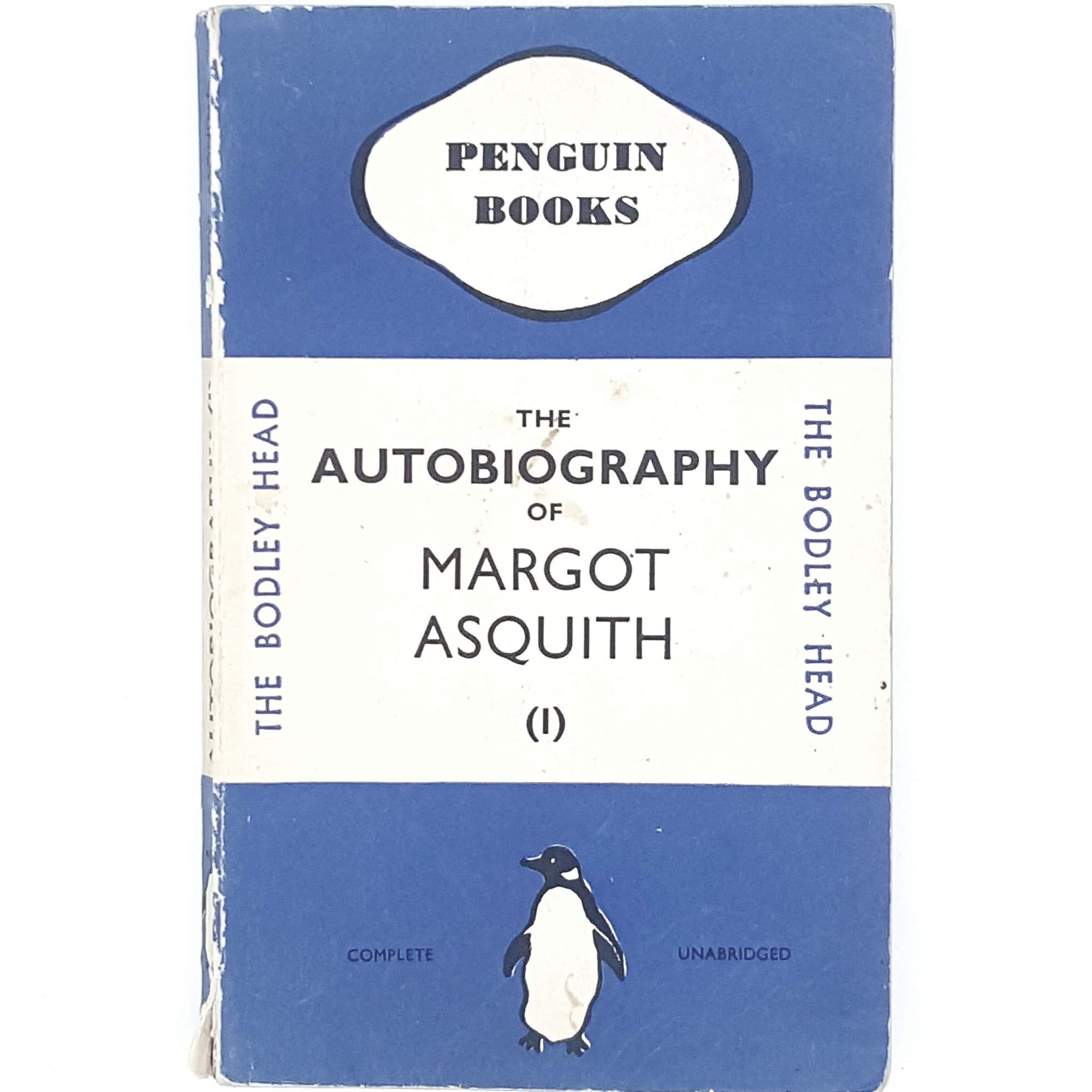Vintage Penguin The Autobiography of Margot Asquith I 1936