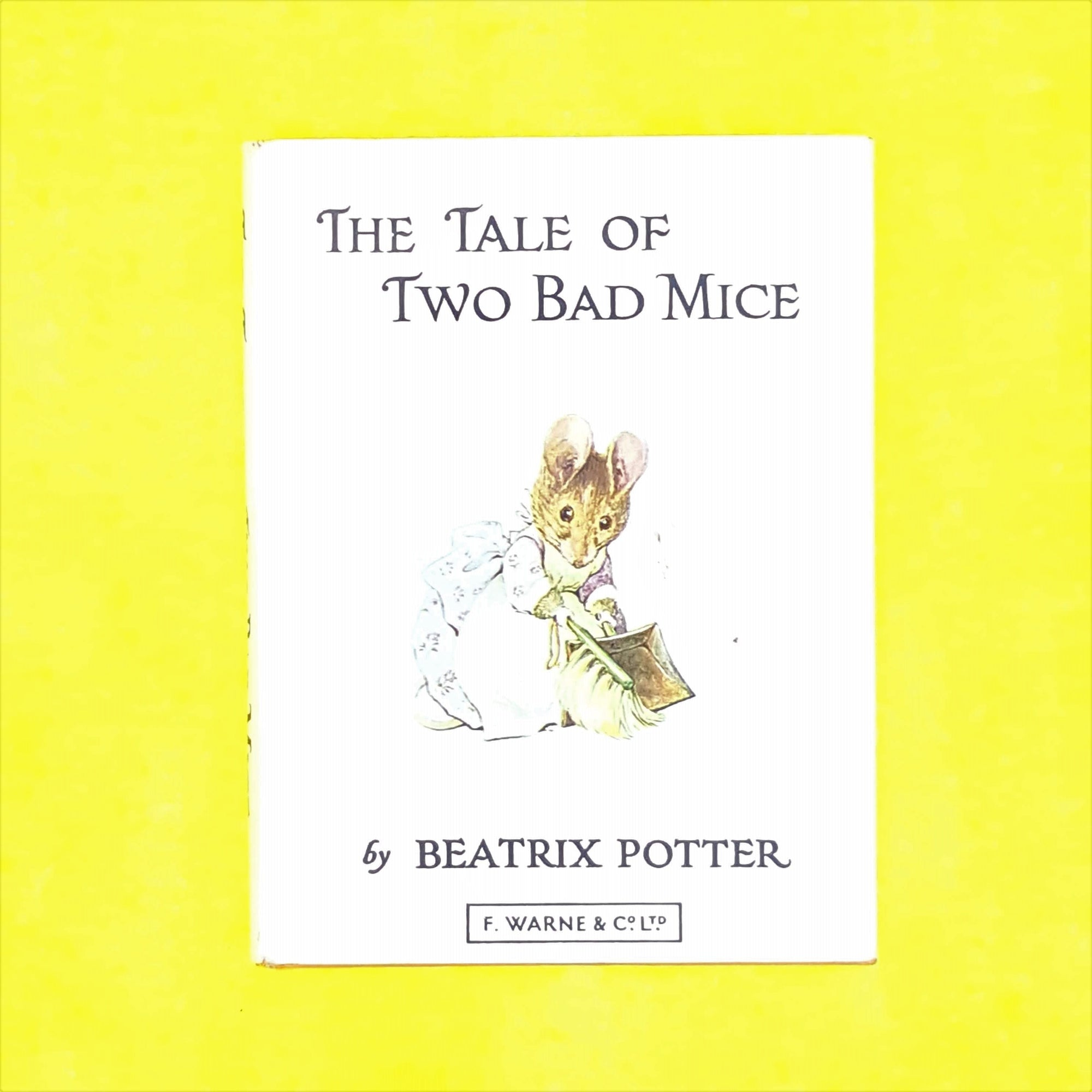 childrens-antique-patterned-two-bad-mice-old-books-orange-classic-decorative-beatrix-potter-country-house-library-vintage-thrift-
