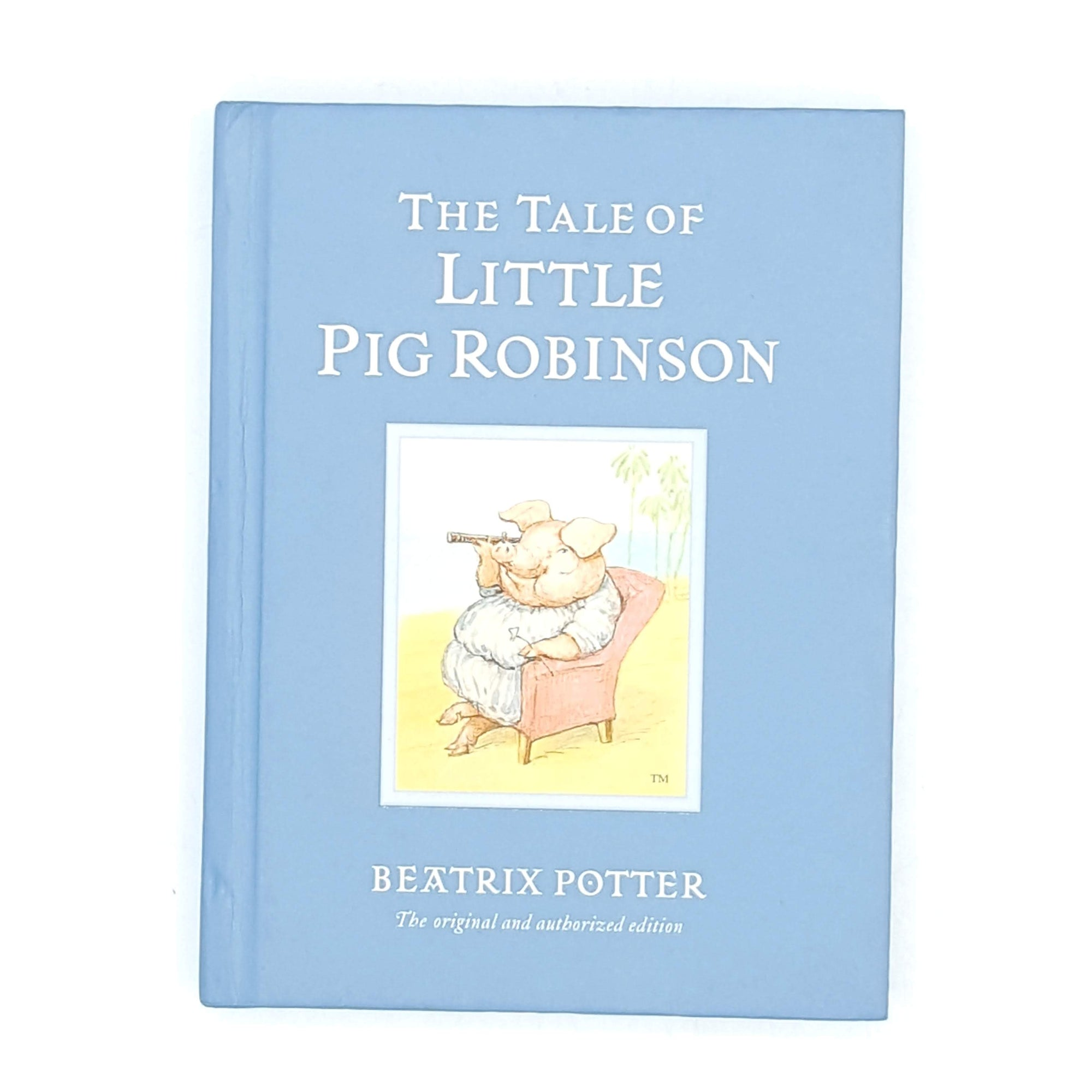 decorative-vintage-blue-country-house-library-little-pig-robinson-old-thrift-illustrated-patterned-childrens-antique-books-classic-beatrix-potter-
