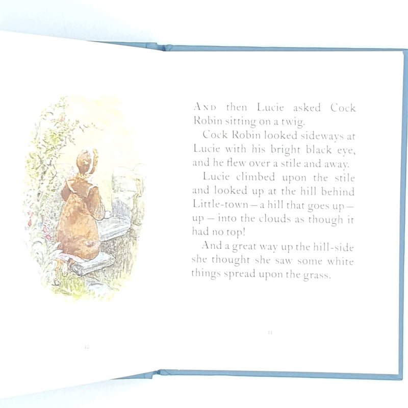 Beatrix Potter's The Tale of Little Pig Robinson, blue cover