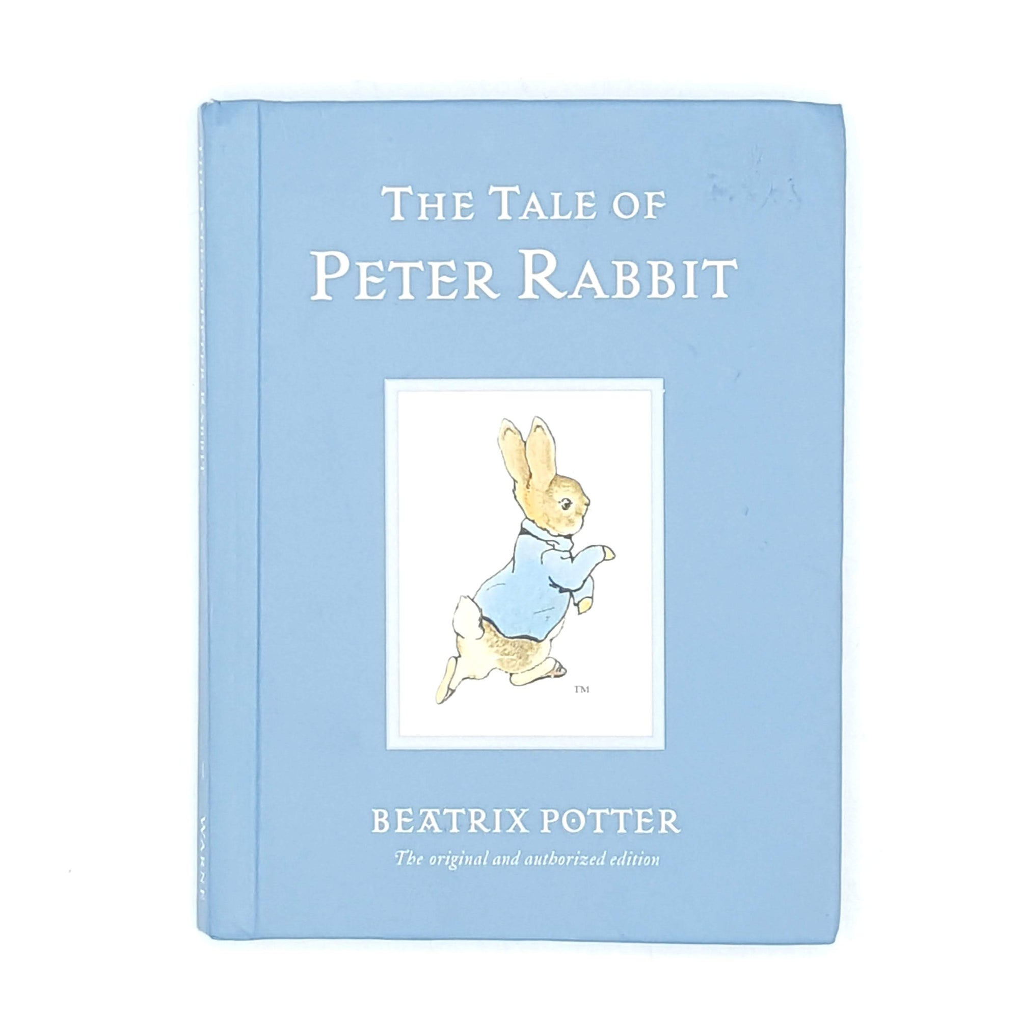 decorative-beatrix-potter-country-house-library-blue-old-vintage-thrift-antique-childrens-peter-rabbit-patterned-books-classic-