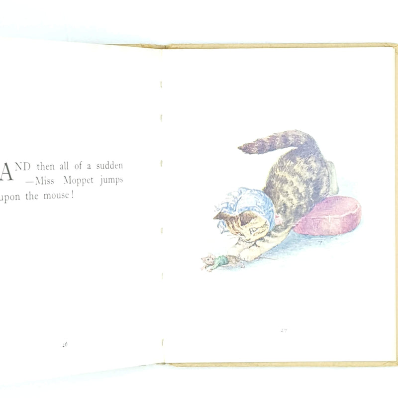 classic-beige-vintage-thrift-beatrix-potter-country-house-library-the-pie-and-the-patty-pan-old-childrens-antique-patterned-decorative-books-