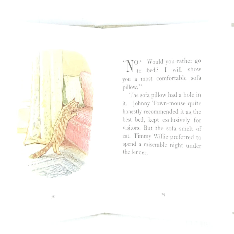 decorative-country-house-library-childrens-classic-beatrix-potter-thrift-antique-books-vintage-old-patterned-miss-moppet-beige-