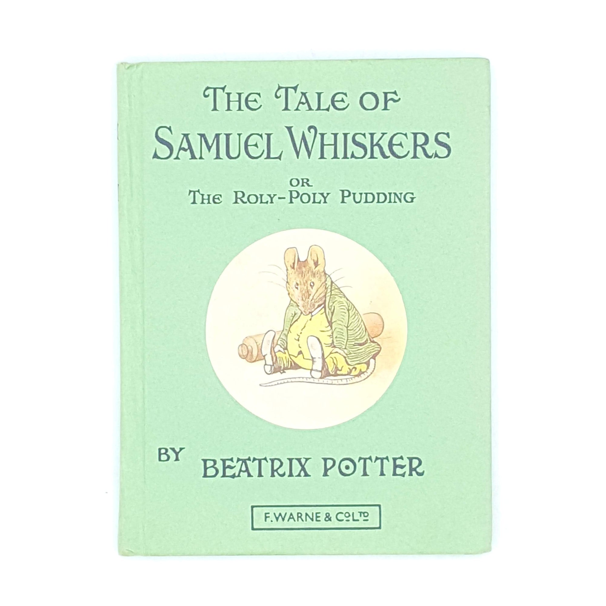Beatrix Potter's The Tale of Samuel Whiskers, light green cover