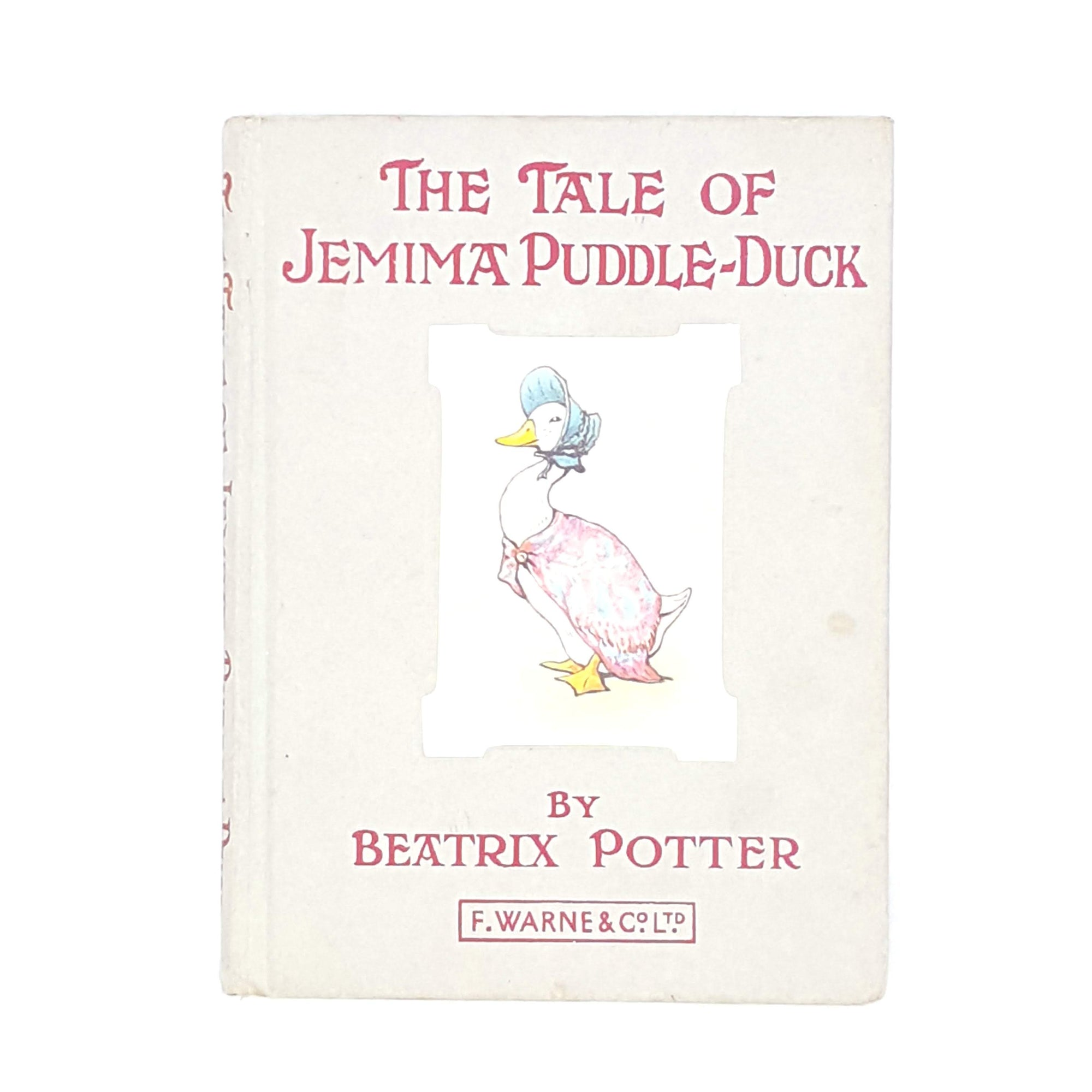 Beatrix Potter's The Tale of Jemima Puddle-Duck, grey cover