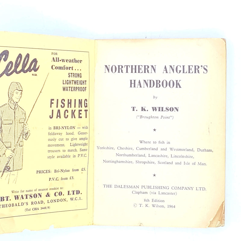 Northern Angler's Handbook 8th Edition 1964