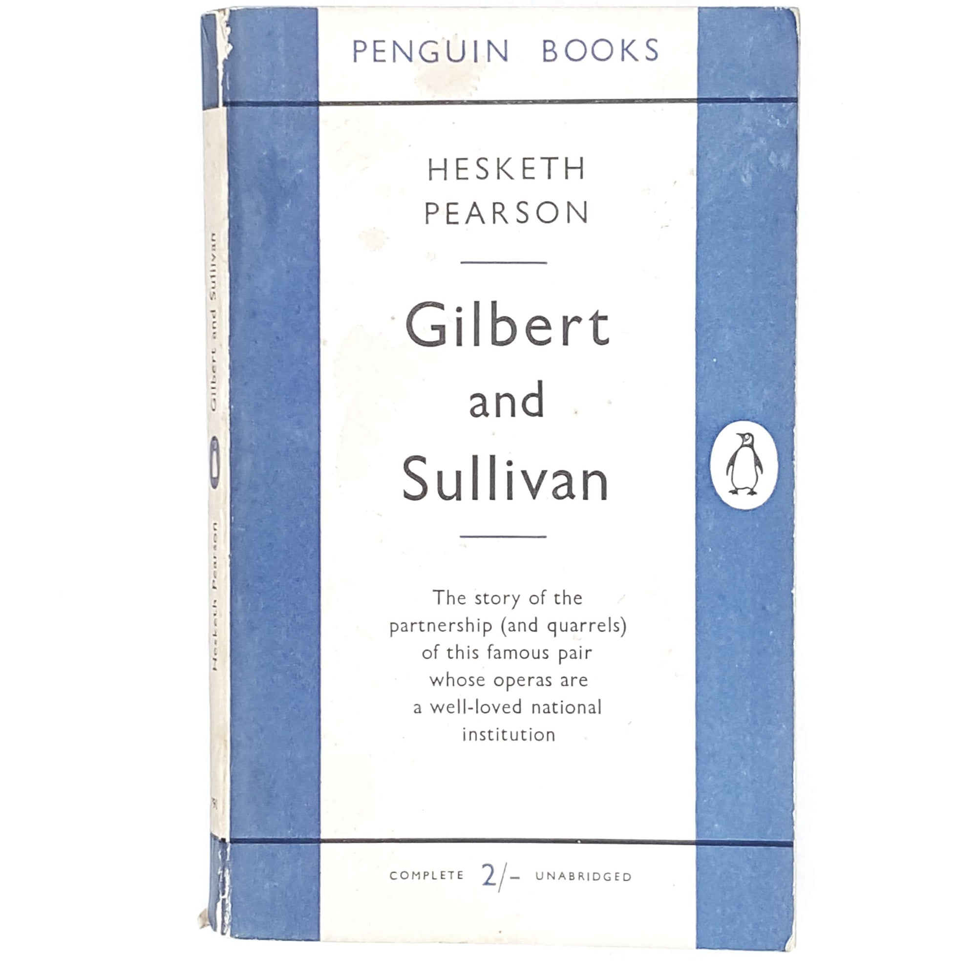 Vintage Penguin Gilbert and Sullivan 1954