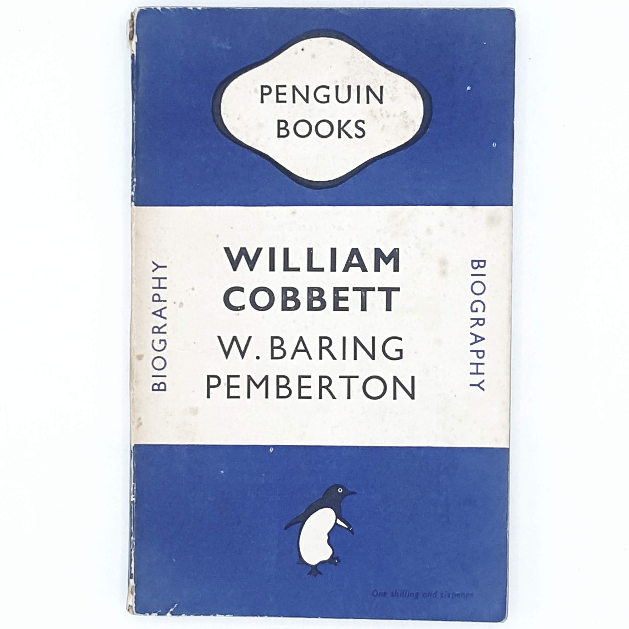 blue-willian-cobbett-vintage-penguin-country-library-book