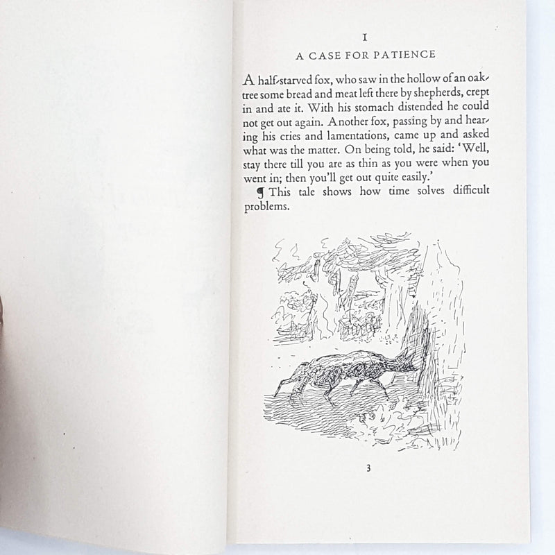 Illustrated Aesop's Fables 1956