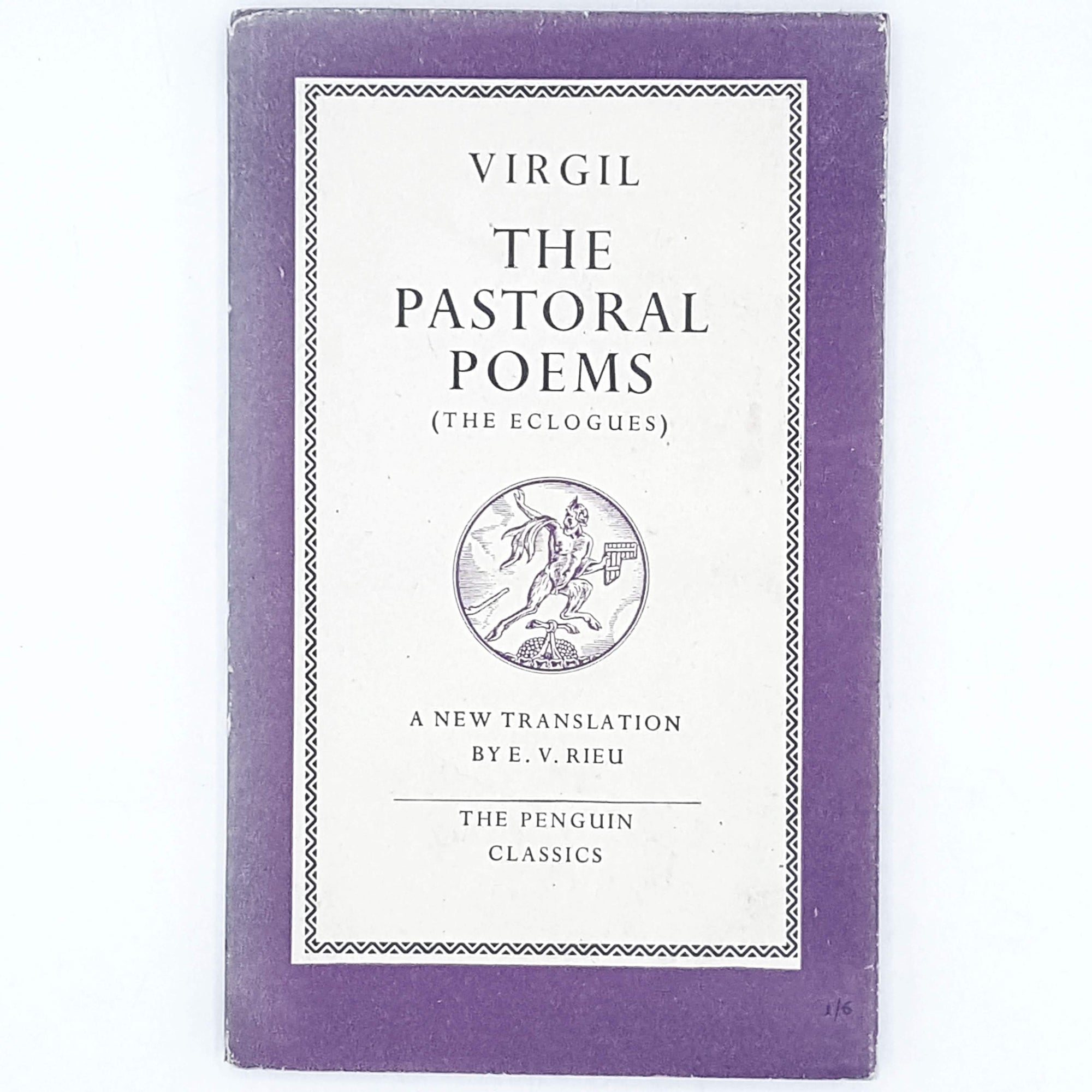 First Edition Virgil The Pastoral Poems 1949