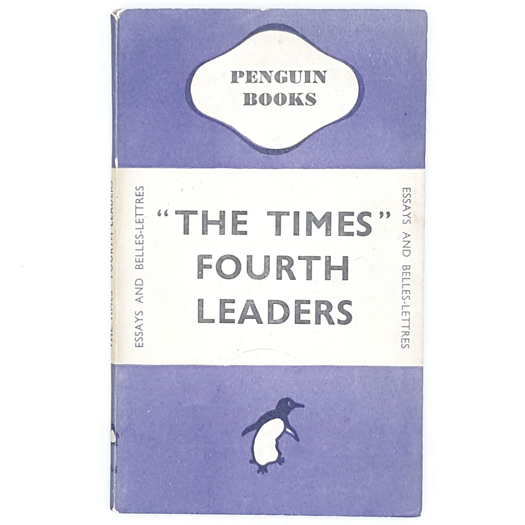 First Edition The Times Fourth Leaders 1945