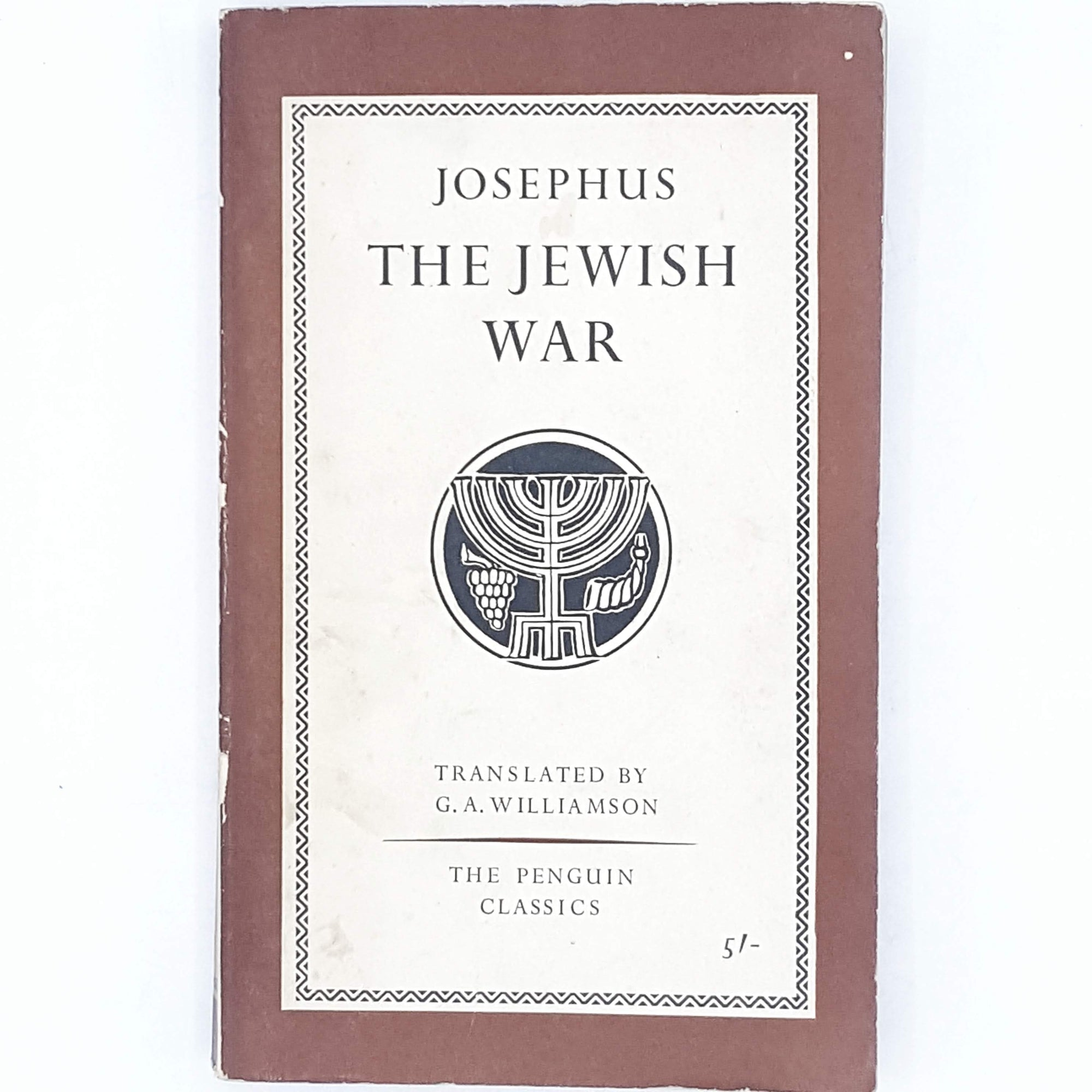 The Jewish War by Josephus 1960