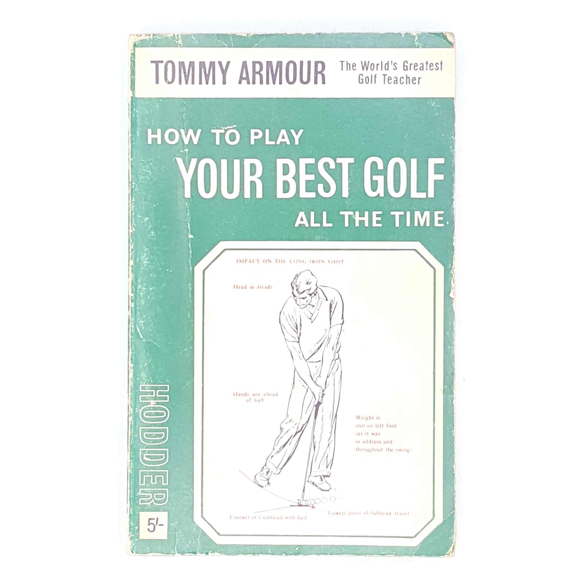 patterned-decorative-sport-old-golf-books-vintage-thrift-country-house-library-1965-antique-how-to-play-your-best-golf-classic-