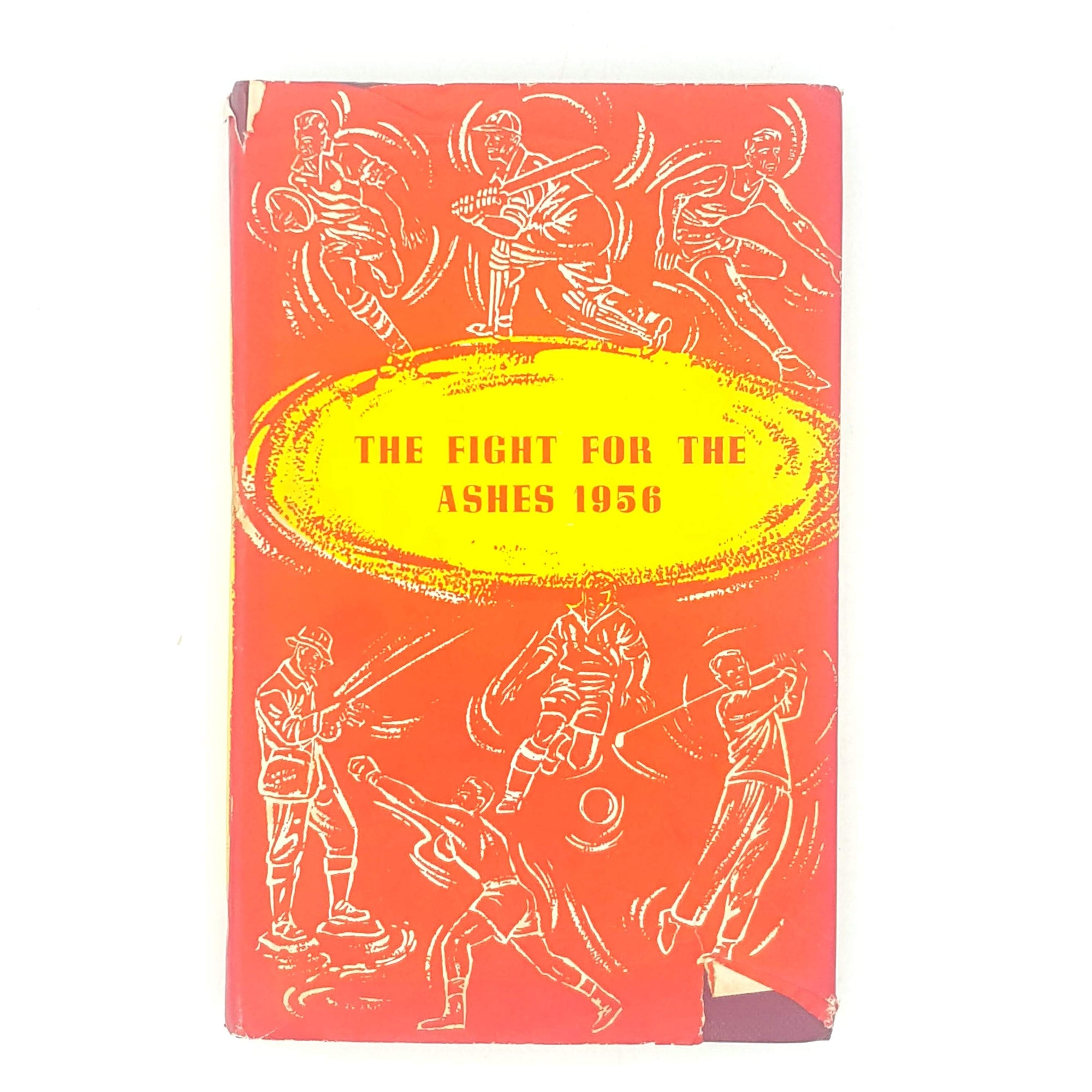 The Fight for the Ashes by P. West 1956