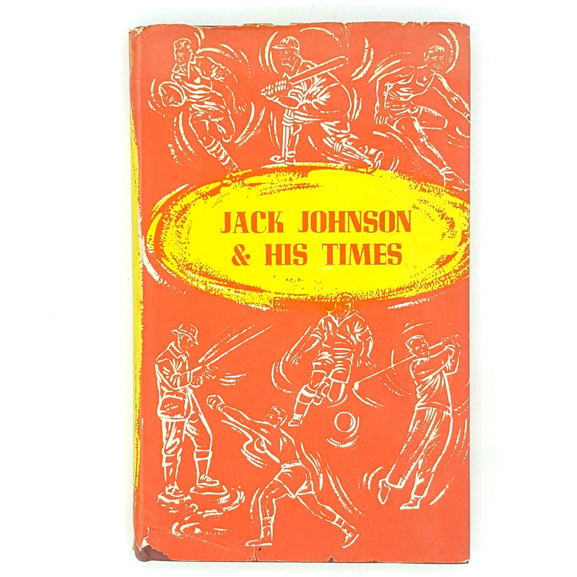 books-patterned-decorative-denzil-batchelor-country-house-library-vintage-classic-sport-red-thrift-boxing-sportsmans-book-club-jack-johnson-antique-old-