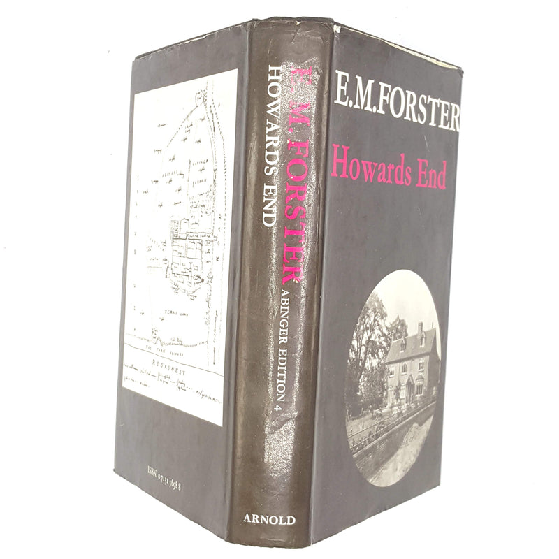 black-books-country-house-library-vintage-old-antique-edward-arnold-e-m-forster-patterned-decorative-classic-thrift-1973-howards-end-