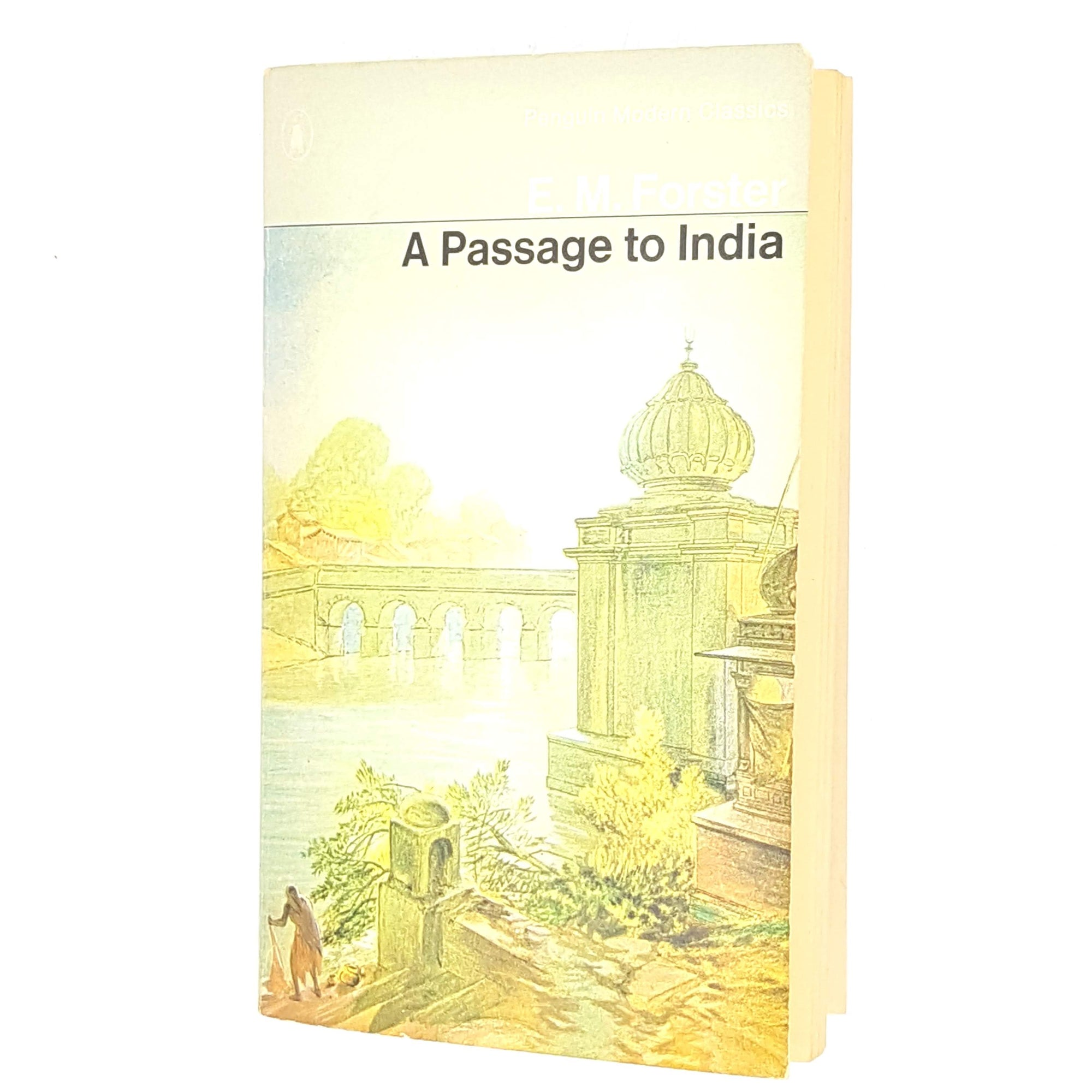 classic-antique-e-m-forster-1970-penguin-decorative-grey-thrift-a-passage-to-india-country-house-library-white-modern-classics-vintage-old-books-patterned-