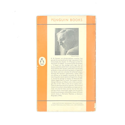 E. M. Forster's Where Angels Fear to Tread Penguin 1960