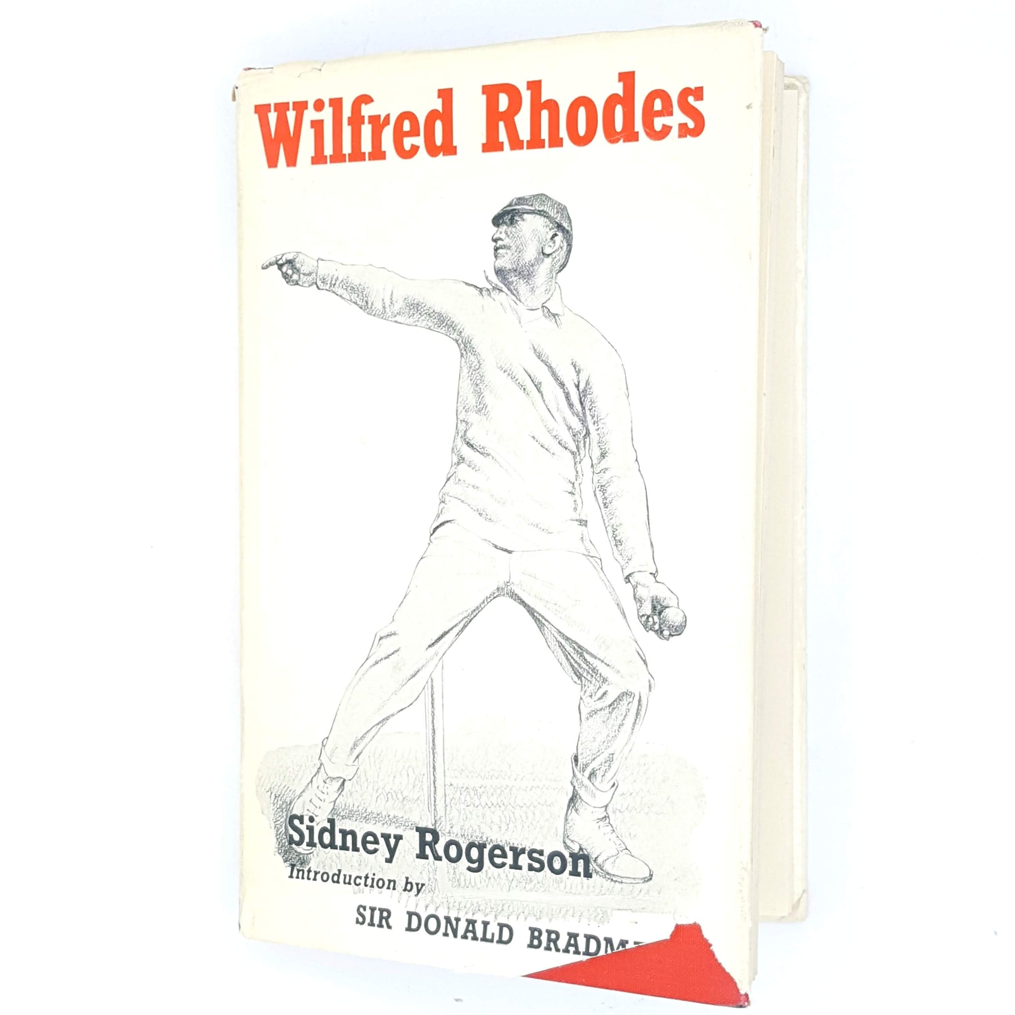 Wilfred Rhodes by Sidney Rogerson 1960