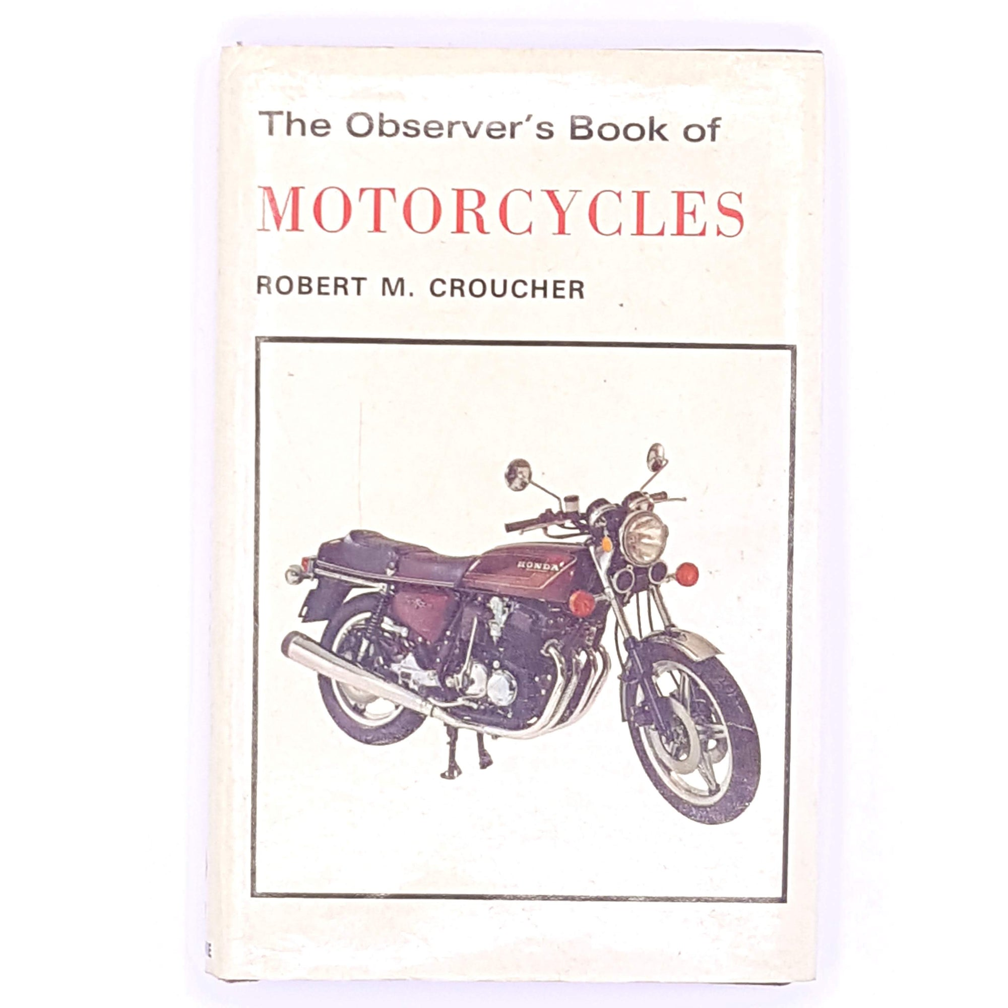 observer-1977-patterned-decorative-pocket-classic-motorcycles-motorbikes-croucher-antique-old-vintage-thrift-bikes-country-house-library-books-