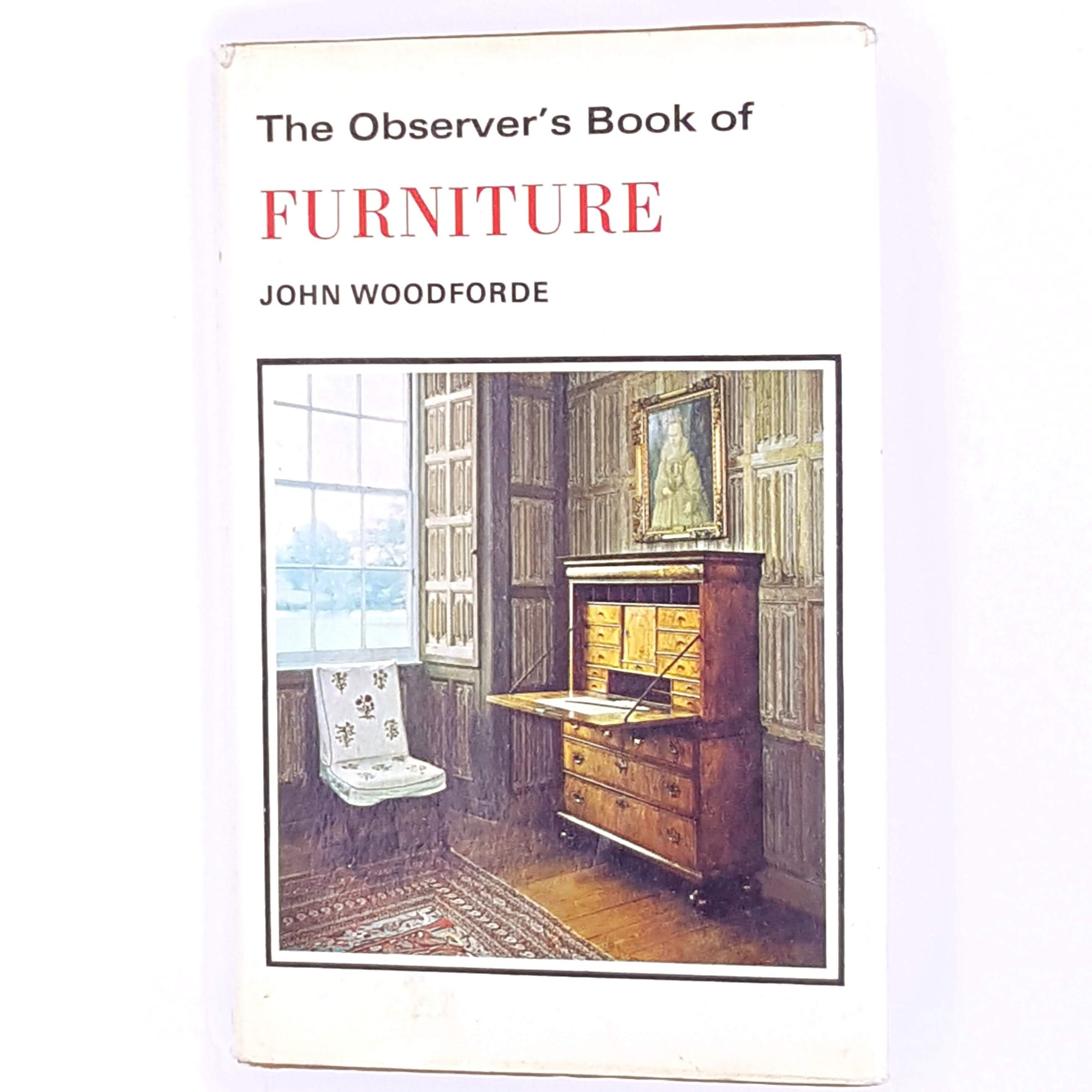 antique-decorative-frederick-warne-country-house-library-patterned-old-john-woodforde-classic-thrift-observer-books-1967-furniture-vintage-illustrated-