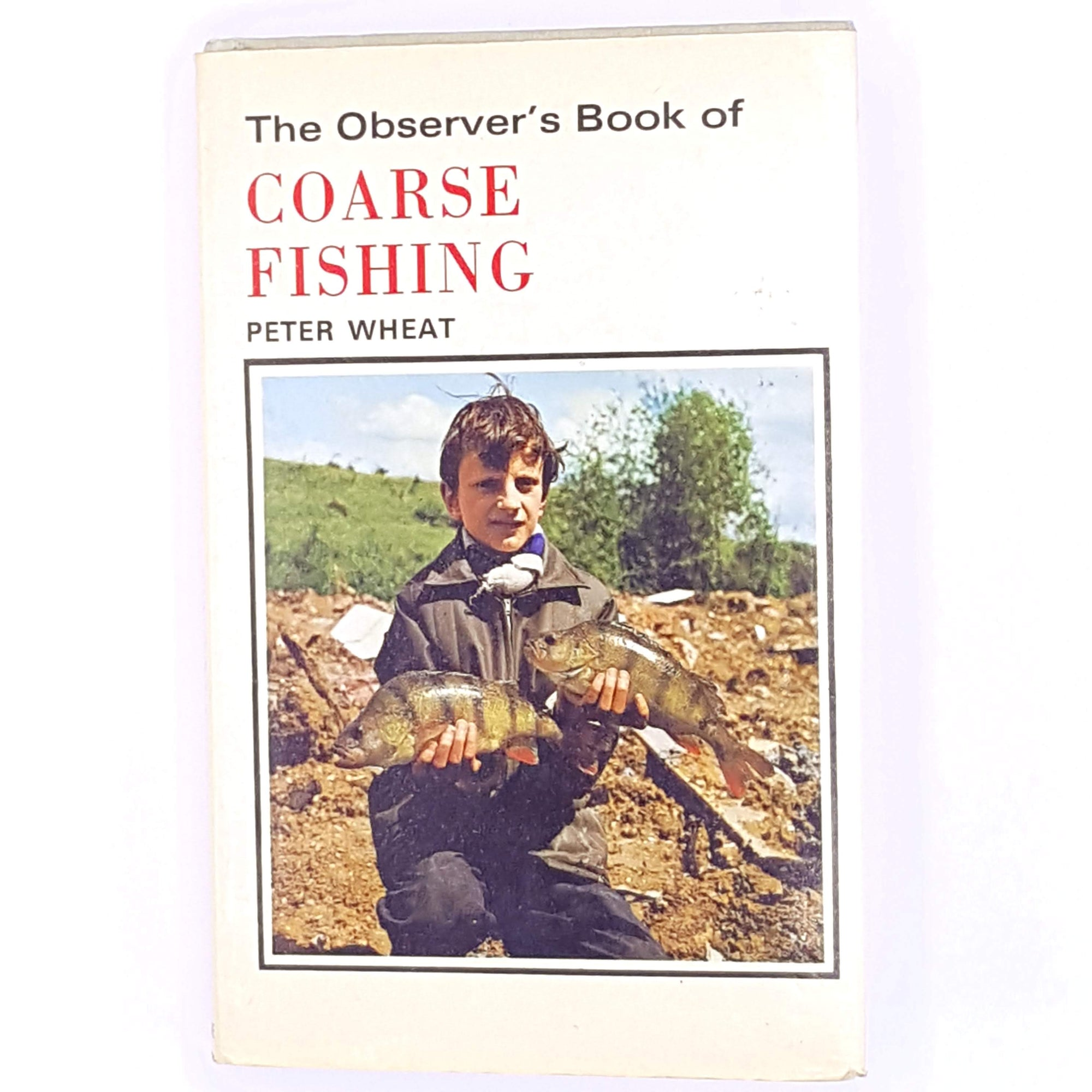 thrift-classic-books-frederick-warne-observer-vintage-decorative-guide-pocket-fish-antique-angling-old-coarse-fishing-country-house-library-1976-peter-wheat-