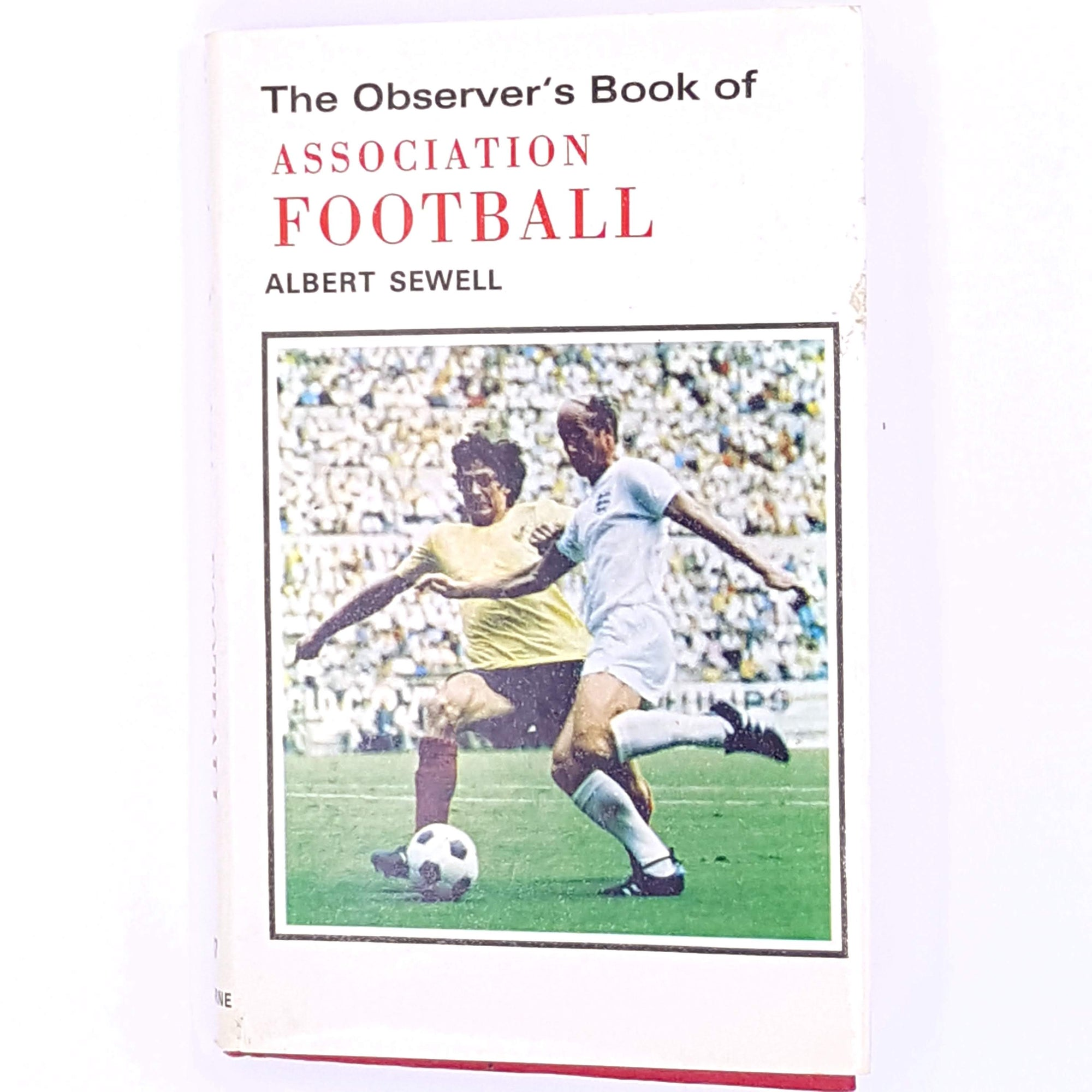 football-thrift-antique-country-house-library-pocket-vintage-classic-albert-sewell-guide-old-decorative-1972-observer-books-association-football