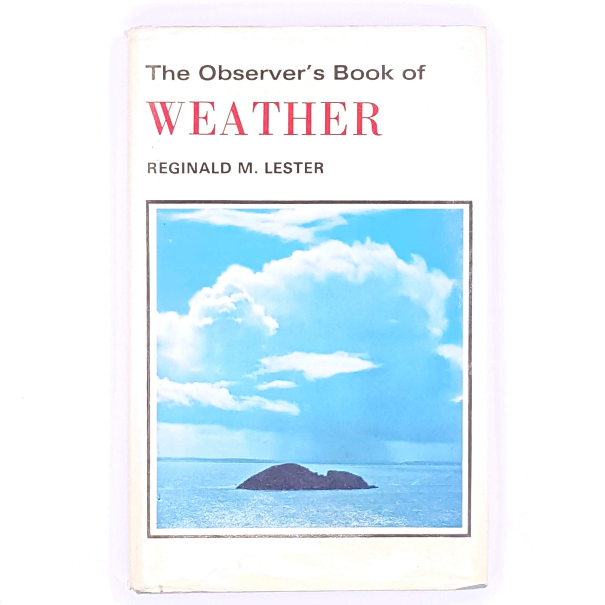pocket-weather-observer-country-house-library-antique-decorative-books-old-1964-vintage-guide-thrift-frederick-warne-rain-classic-sun-seasons-reginald-M-Lester-