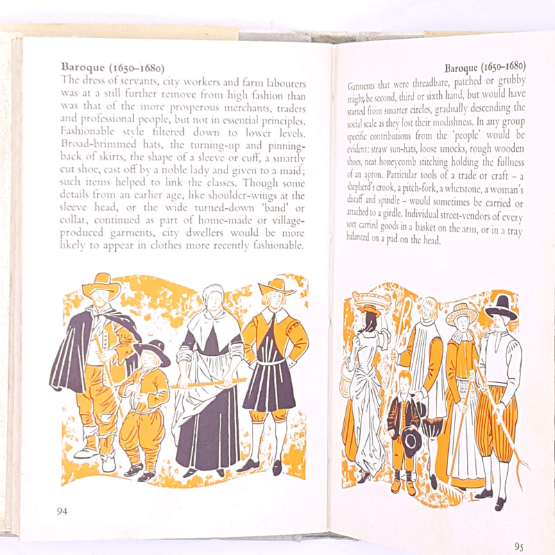 pauline-baynes-old-antique-country-house-library-guide-observer-geoffrey-squire-fashion-classic-european-costume-pocket-vintage-thrift-patterned-dress-decorative-books-