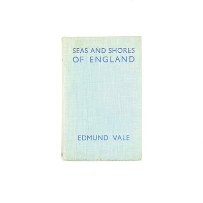 blue-hardcover-illustrated-classic-thrift-books-old-country-house-library-1936-edmund-vale-decorative-antique-patterned-seas-and-shores-of-england-vintage-