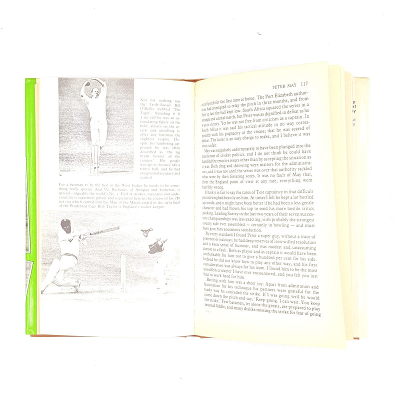 Compton on Cricketers Past and Present by Denis Compton 1981