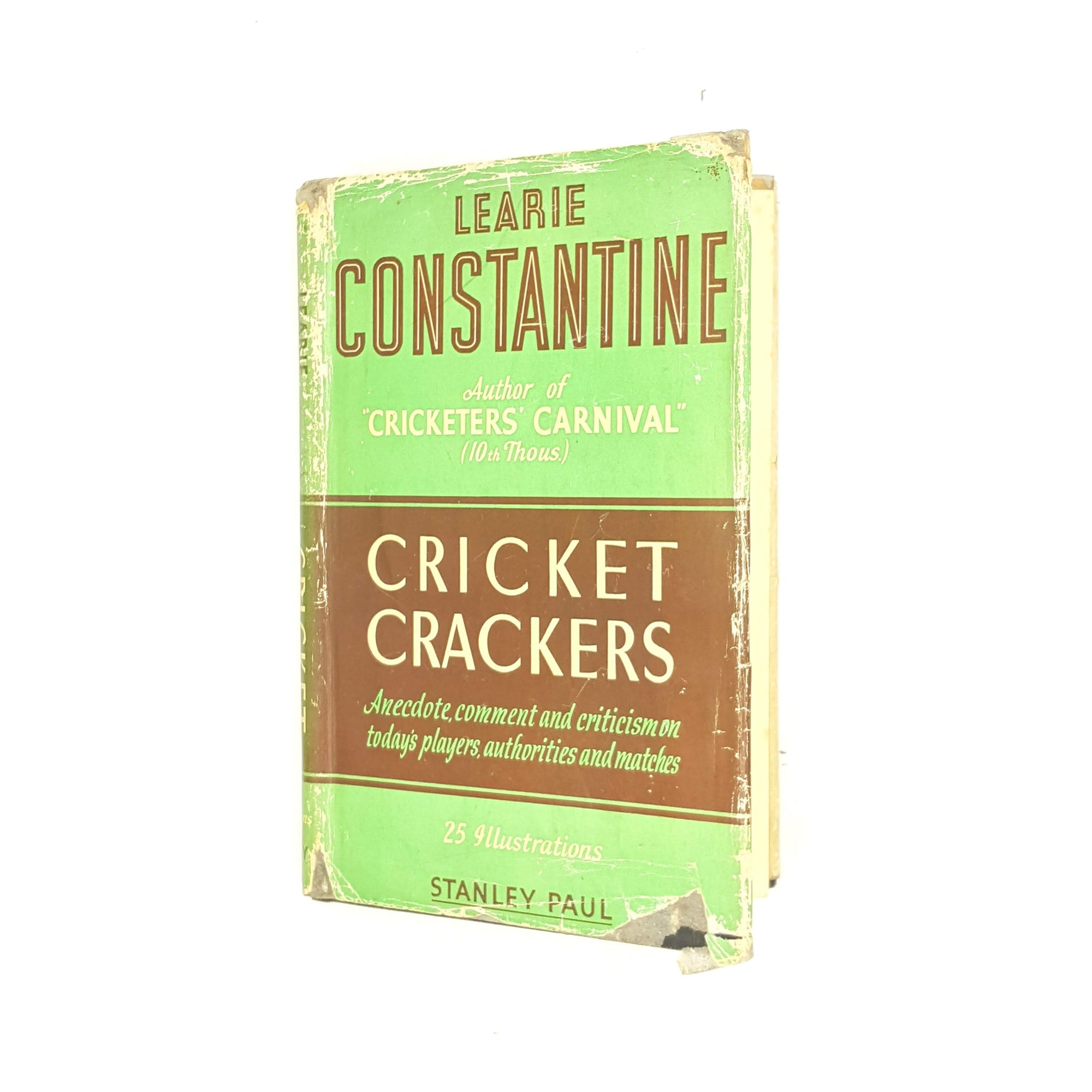 Cricket Crackers by Learie Constantine