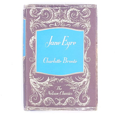 antique-thrift-Bronte-Siters--Bronte-decorative-books-patterned-country-house-library-Charlotte-bronte-old-classics-gothic-vintage-jane-eyre-feminist-