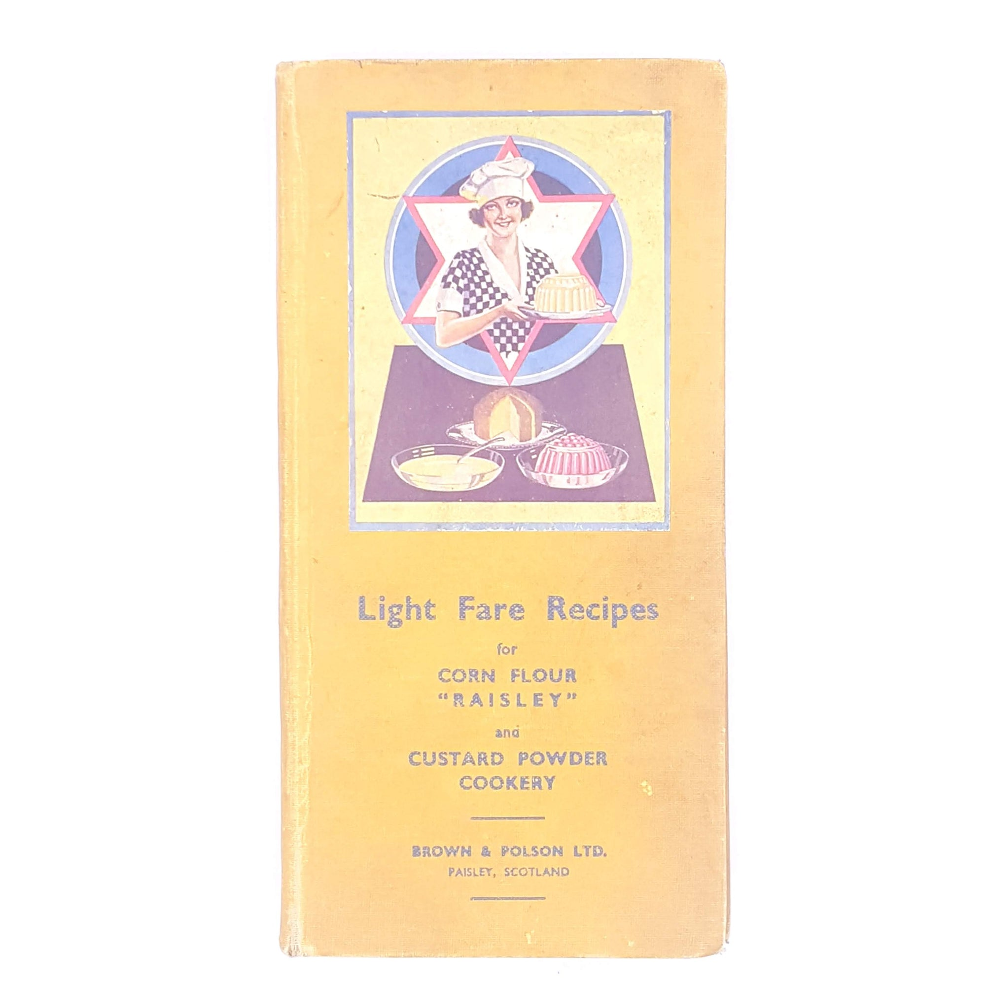 Light Fare Recipes by Brown and Polson 1932