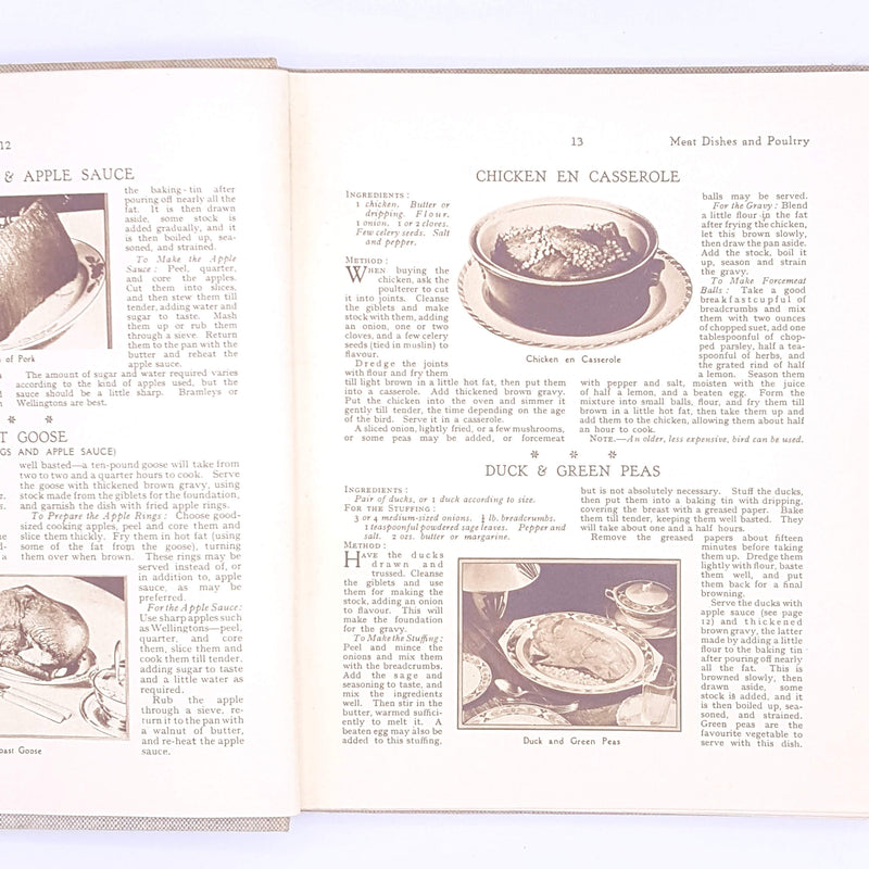 Cookery Gift Book by Bestway Eighth Edition 1930