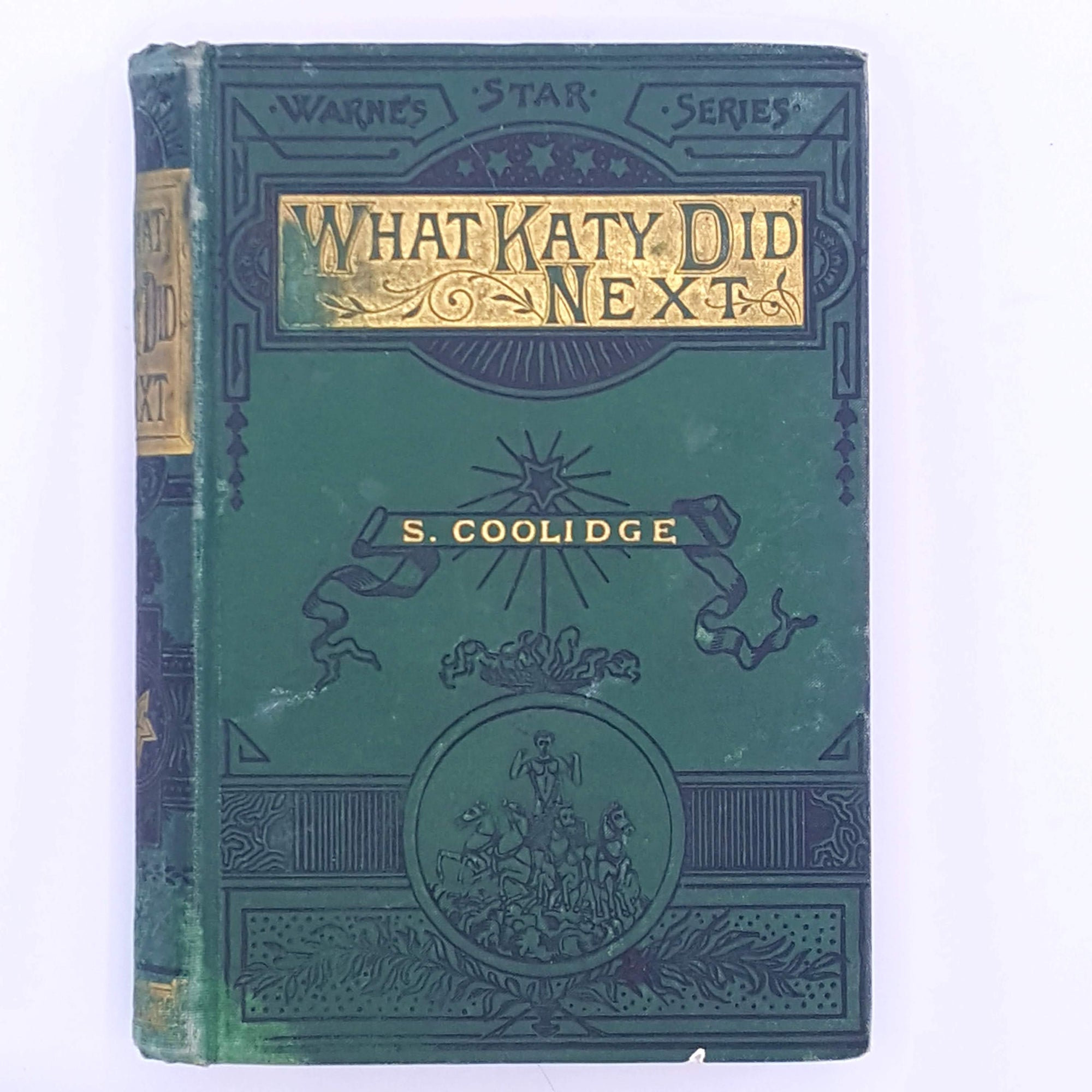 What Katy Did Next by Susan Coolidge c1900s