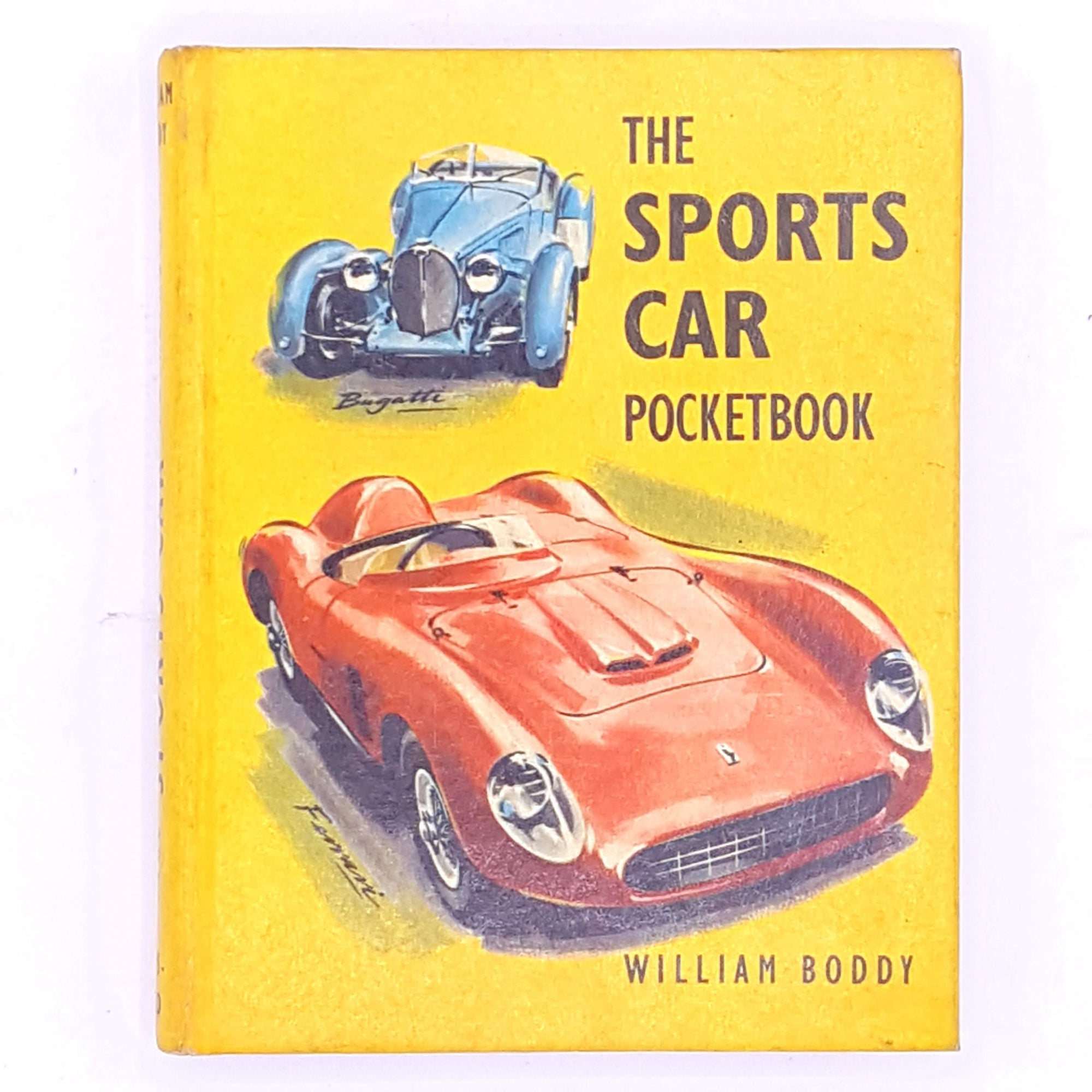 Christmas Sports Car.The Sports Car Pocket Book By William Boddy 1963