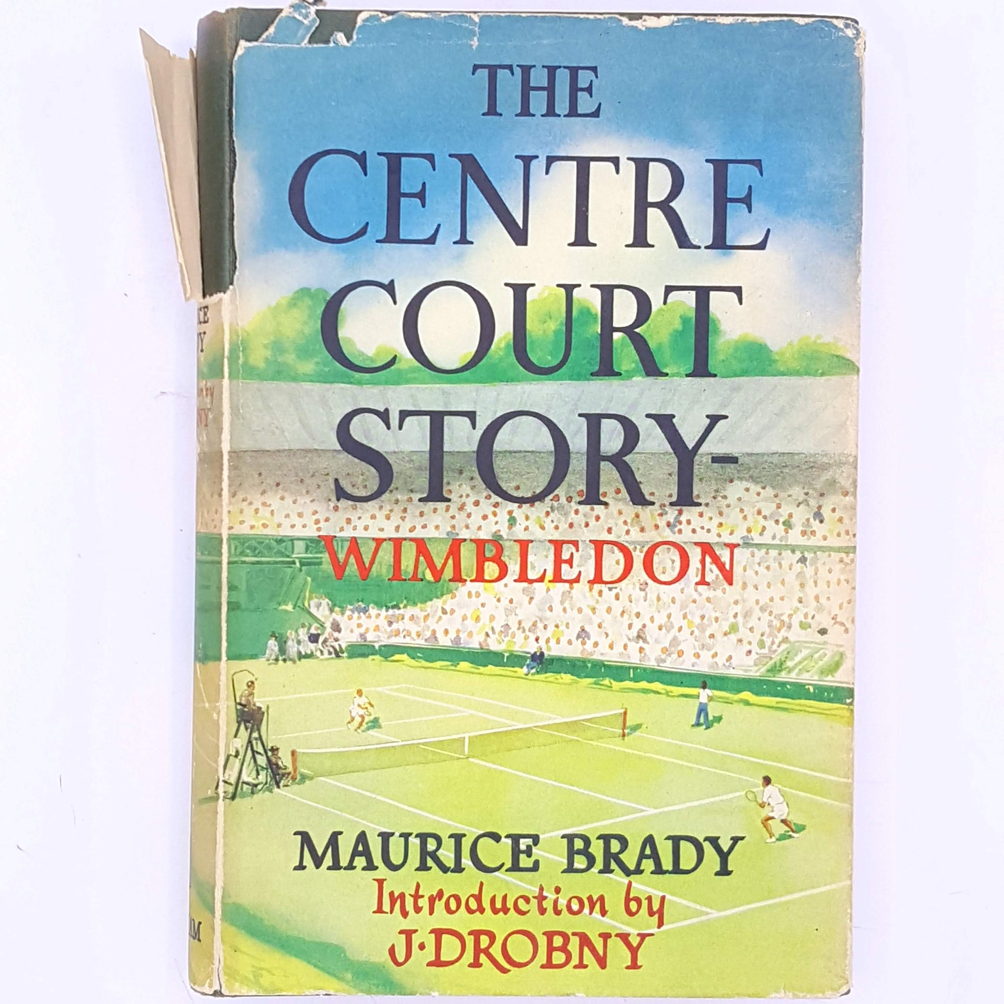 decorative-wimbledon-old-country-house-library-tennis-thrift-classic-summer-christmas-gifts-patterned-the-centre-court-story-antique-for-him-for-sports-fans-sport-vintage-books-