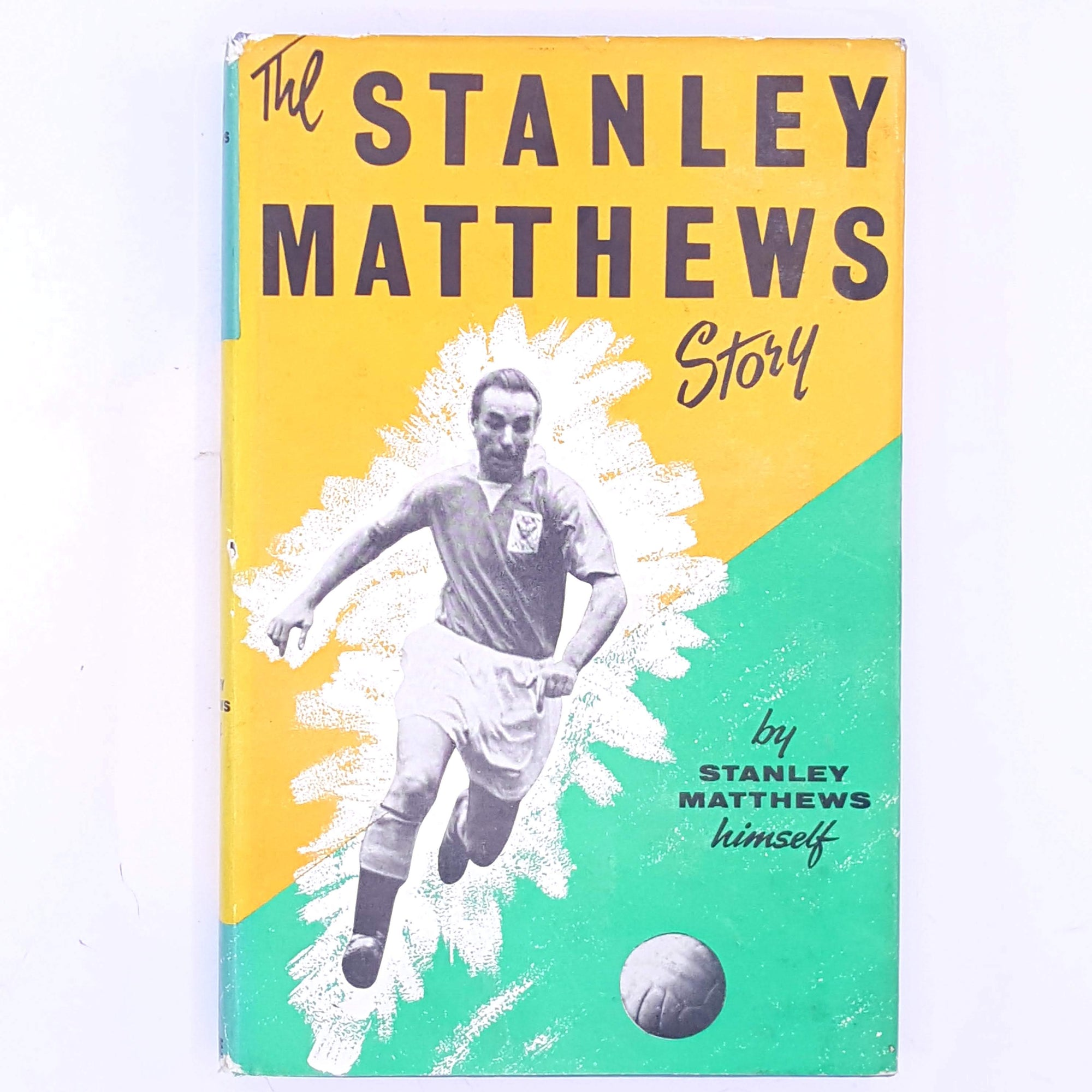 sport-the-stanley-mattews-story-vintage-christmas-gifts-antique-patterned-books-football-country-house-library-classic-old-decorative-soccer-thrift-for-him-for-sports-fans-