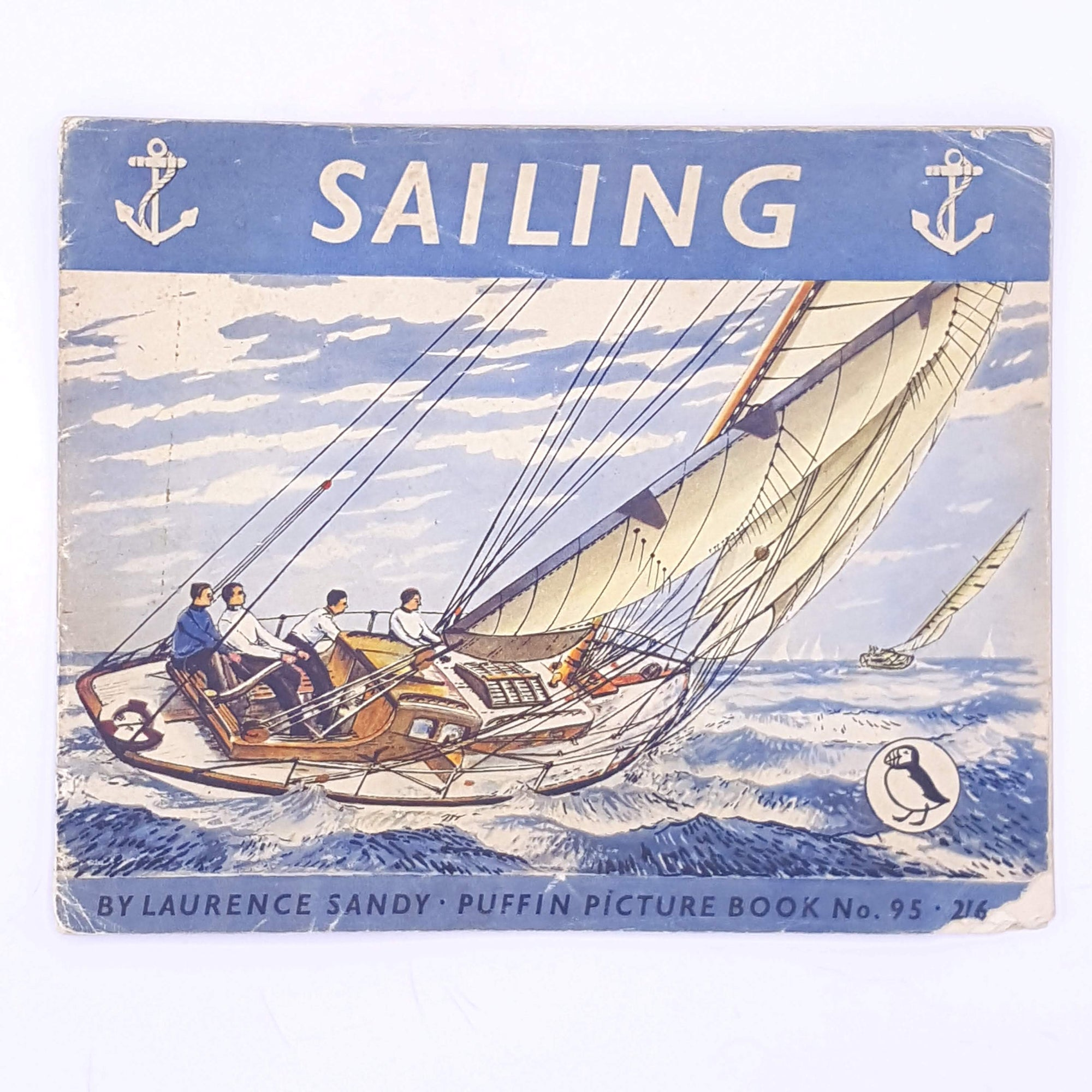 Sailing a puffin picture book, 1953, Laurence Sandy