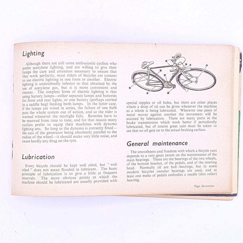 Cycling 'Know the Game' series, 1952
