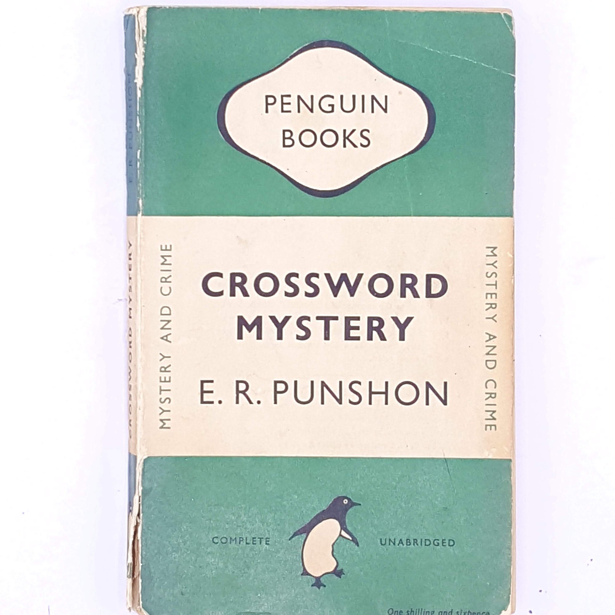 Penguin, Crossword Mystery, E.R. Punshon.1948